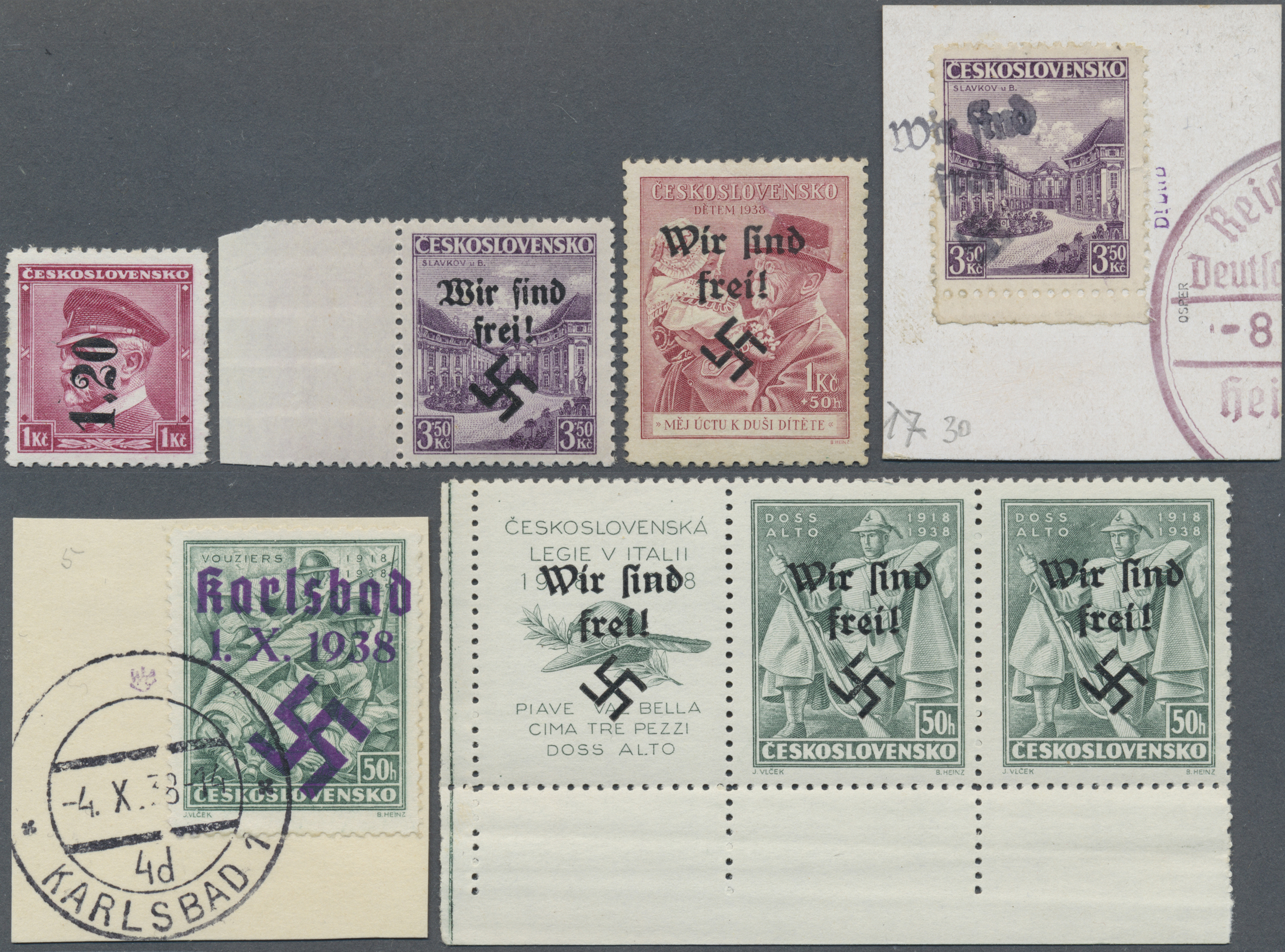 Lot 37474 - sudetenland  -  Auktionshaus Christoph Gärtner GmbH & Co. KG Collections Germany,  Collections Supplement, Surprise boxes #39 Day 7