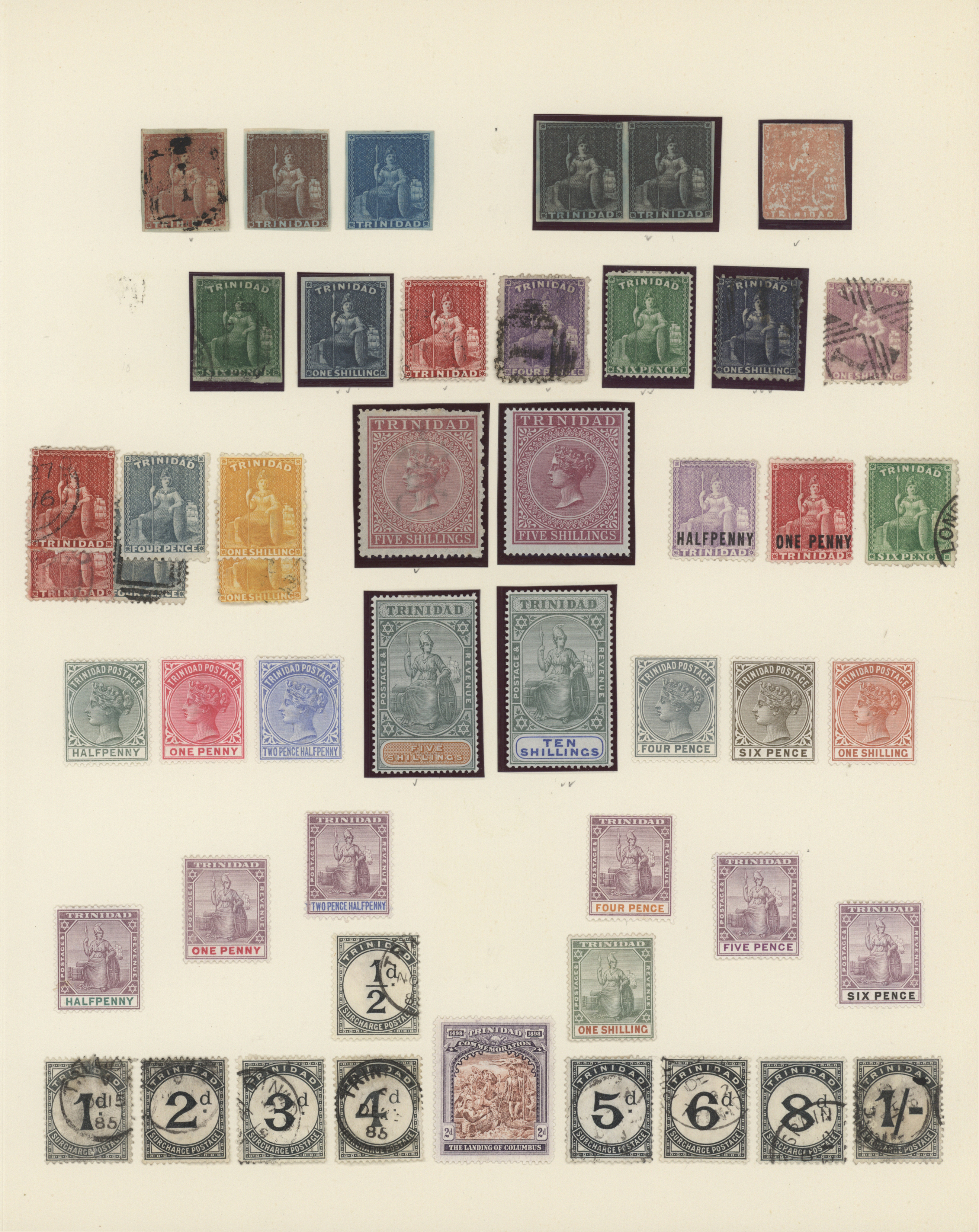 Lot 34624 - trinidad und tobago  -  Auktionshaus Christoph Gärtner GmbH & Co. KG Collections Germany,  Collections Supplement, Surprise boxes #39 Day 7