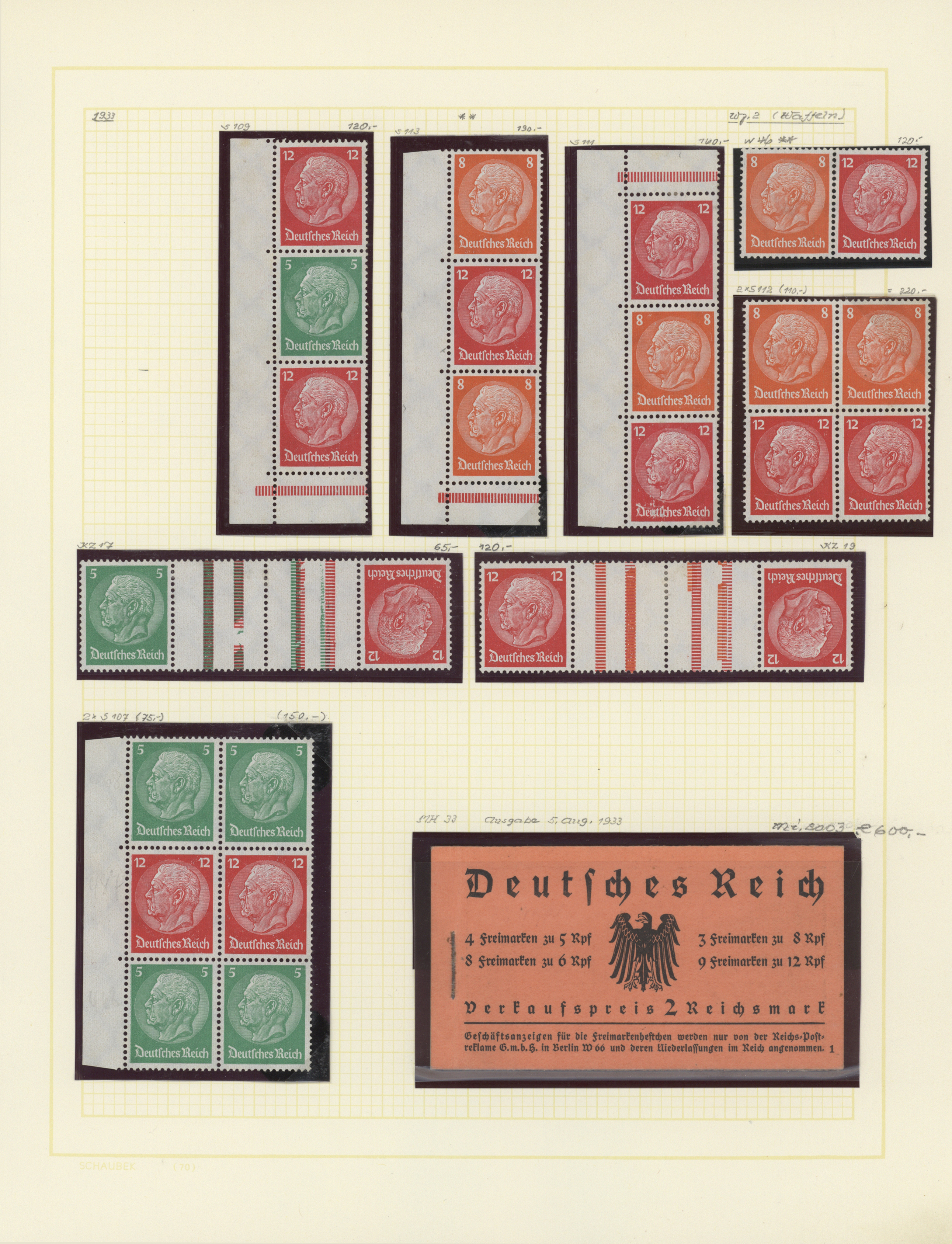 Lot 35012 - Deutsches Reich - 3. Reich  -  Auktionshaus Christoph Gärtner GmbH & Co. KG Collections Germany,  Collections Supplement, Surprise boxes #39 Day 7
