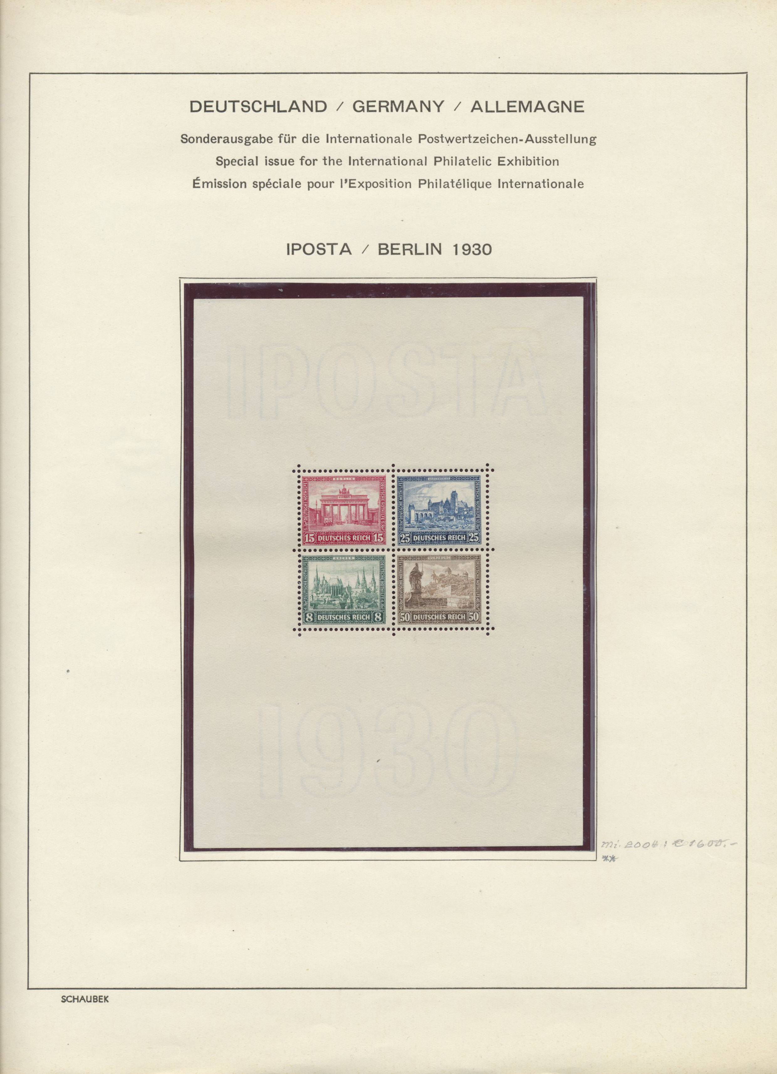Lot 35010 - Deutsches Reich - Weimar  -  Auktionshaus Christoph Gärtner GmbH & Co. KG Collections Germany,  Collections Supplement, Surprise boxes #39 Day 7