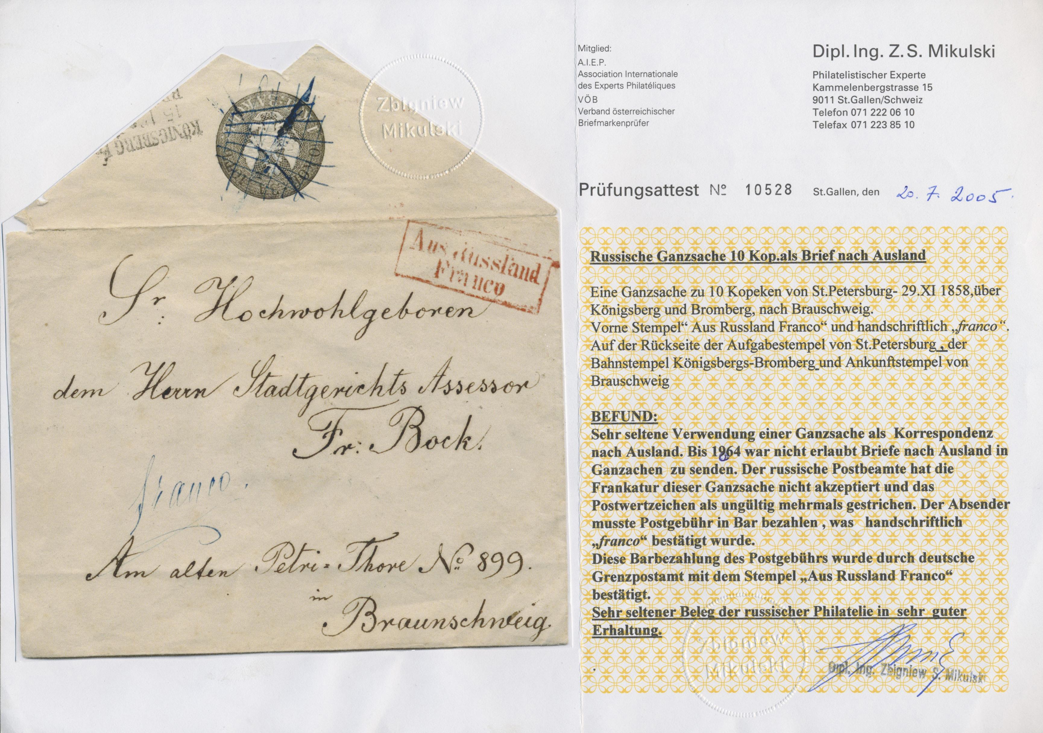 Stamp Auction Braunschweig Besonderheiten Germany Auction 42