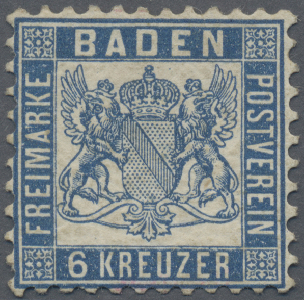 Lot 28141 - Baden - Marken und Briefe  -  Auktionshaus Christoph Gärtner GmbH & Co. KG Sale #46 Gollcetions Germany - including the suplement