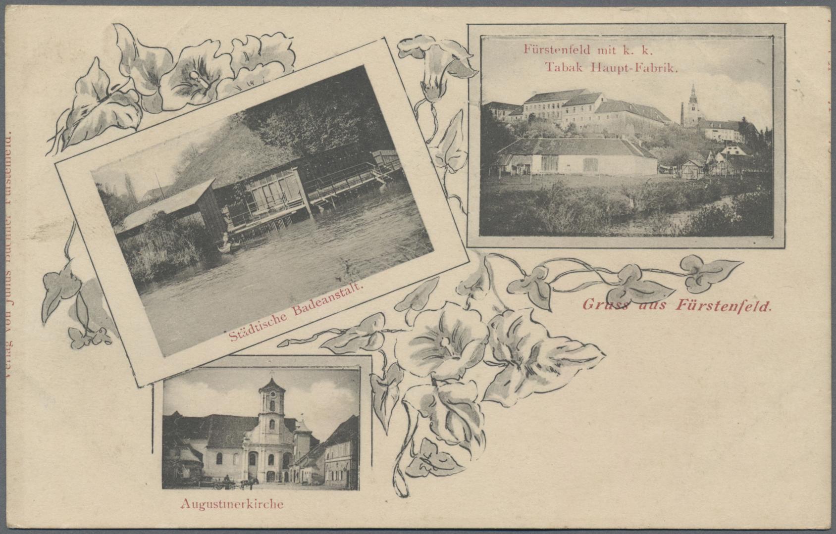 Lot 04199 - Ansichtskarten: Österreich  -  Auktionshaus Christoph Gärtner GmbH & Co. KG Sale #48 The Coins & The Picture Post Cards