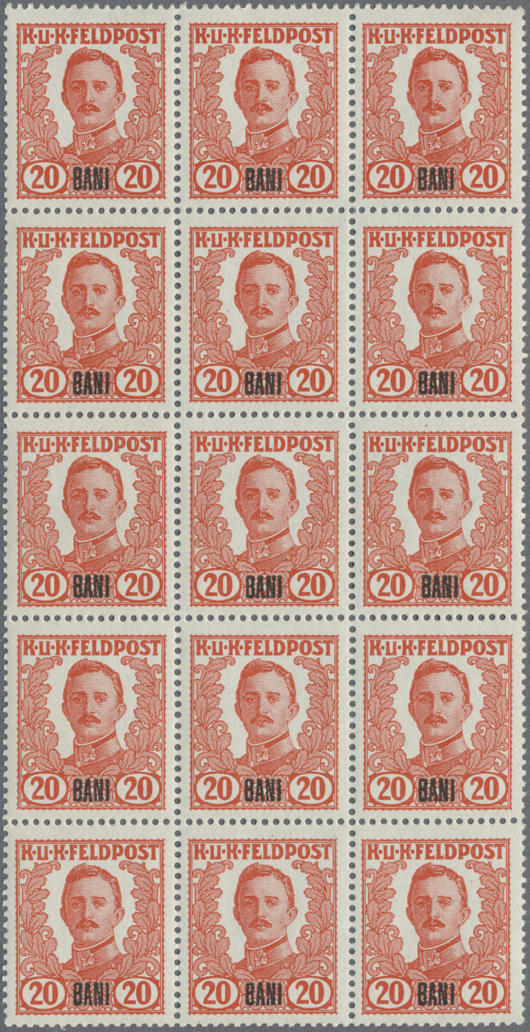 Lot 18354 - Österreichisch-Ungarische Feldpost - Rumänien  -  Auktionshaus Christoph Gärtner GmbH & Co. KG Sale #48 collections Overseas  Airmail / Ship mail & Thematics