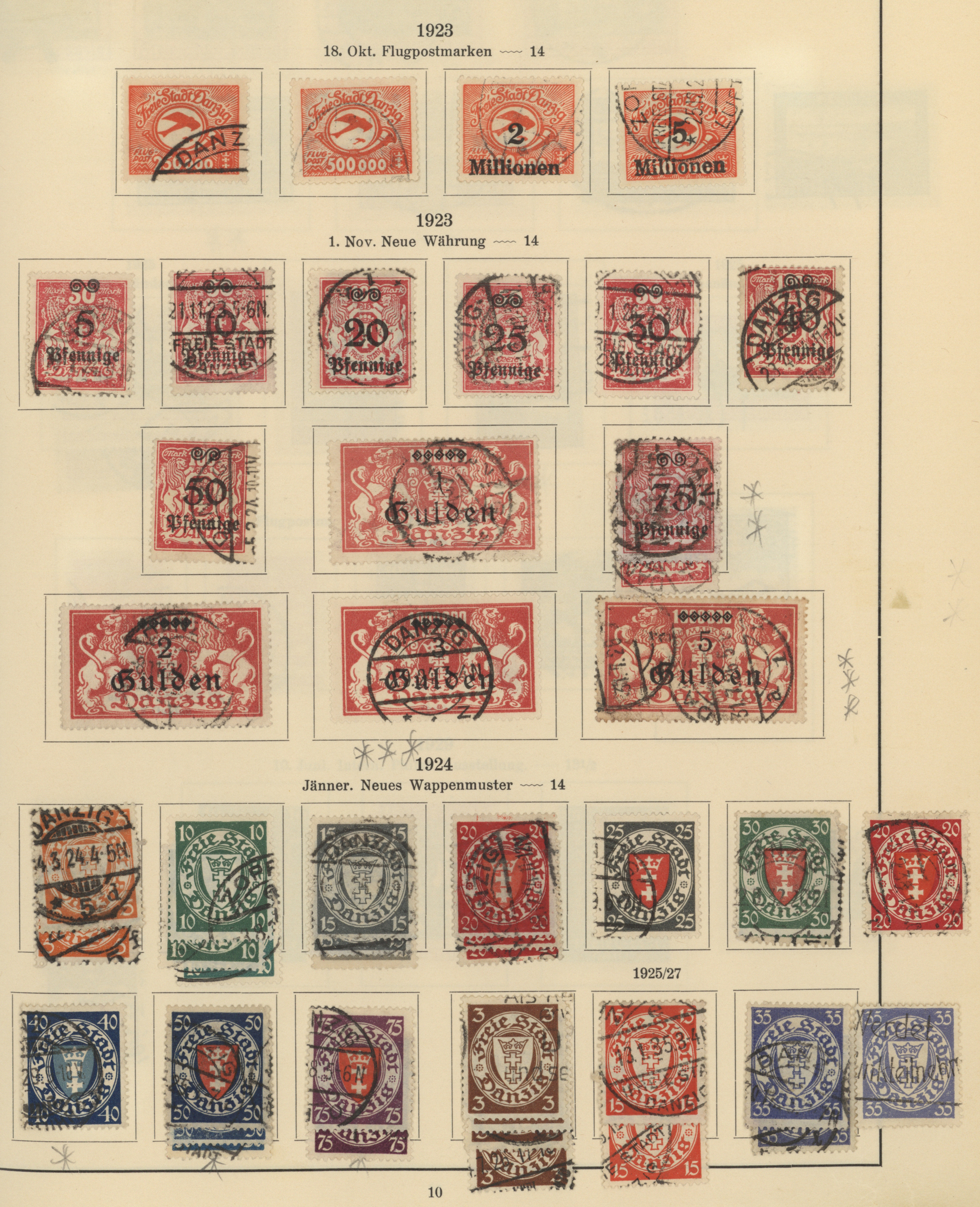 Lot 37062 - danzig  -  Auktionshaus Christoph Gärtner GmbH & Co. KG Sale #44 Collections Germany