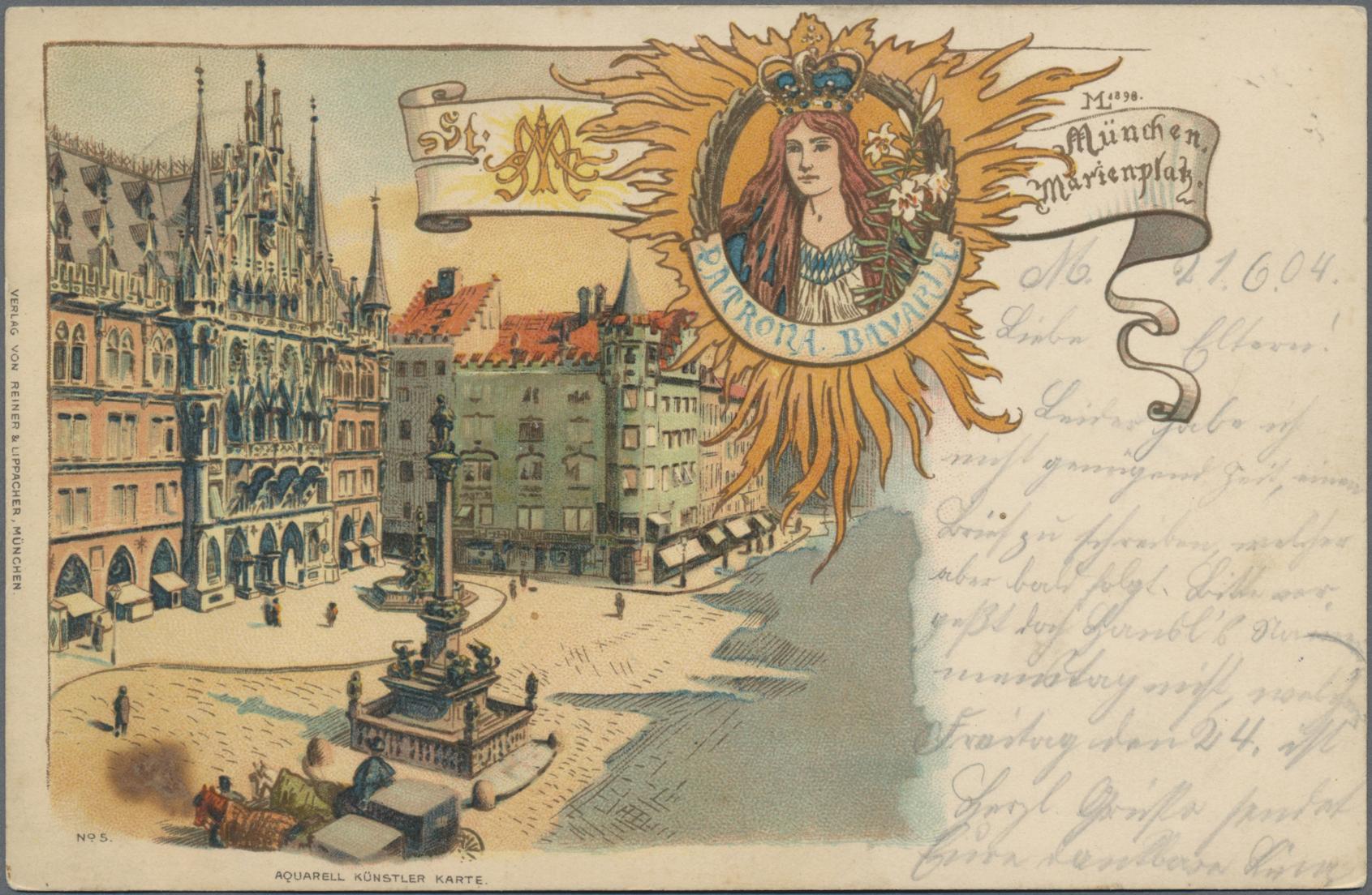 Lot 04482 - Ansichtskarten: Bayern  -  Auktionshaus Christoph Gärtner GmbH & Co. KG Sale #48 The Coins & The Picture Post Cards