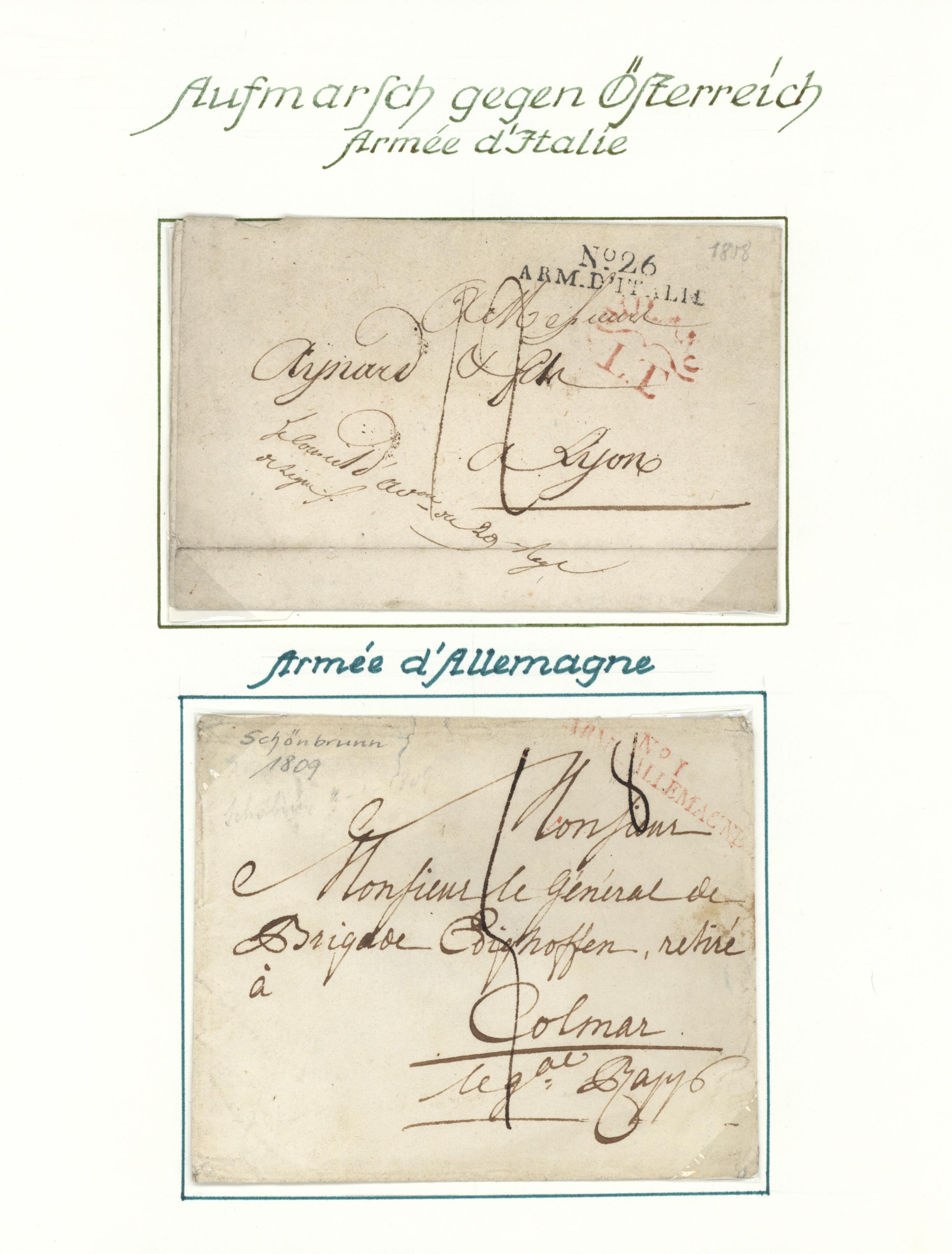 Lot 29729 - Frankreich - Militärpost / Feldpost  -  Auktionshaus Christoph Gärtner GmbH & Co. KG Auction #40 Collections Germany, Wunderkartons