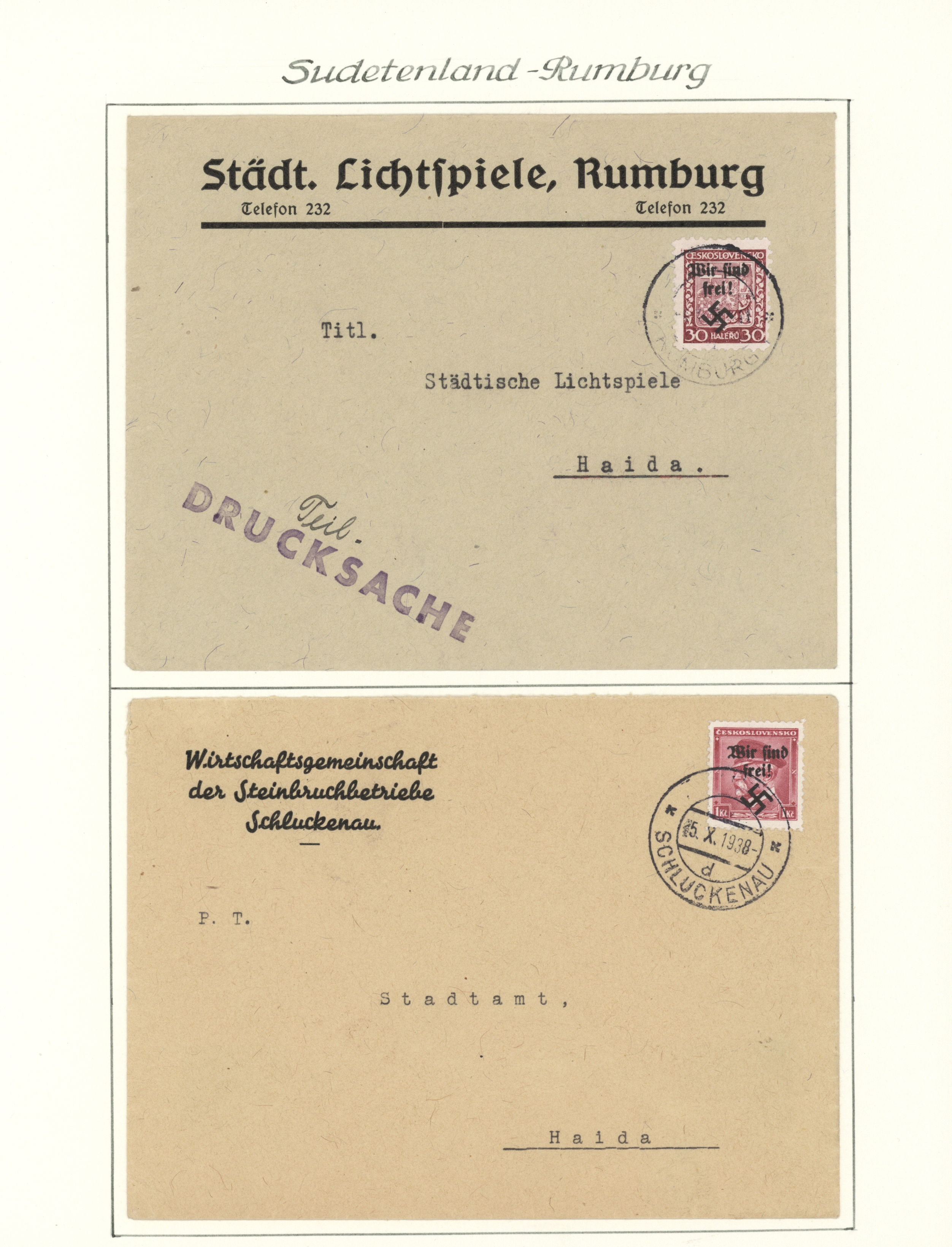 Lot 30040 - sudetenland  -  Auktionshaus Christoph Gärtner GmbH & Co. KG Auction #40 Collections Germany, Wunderkartons