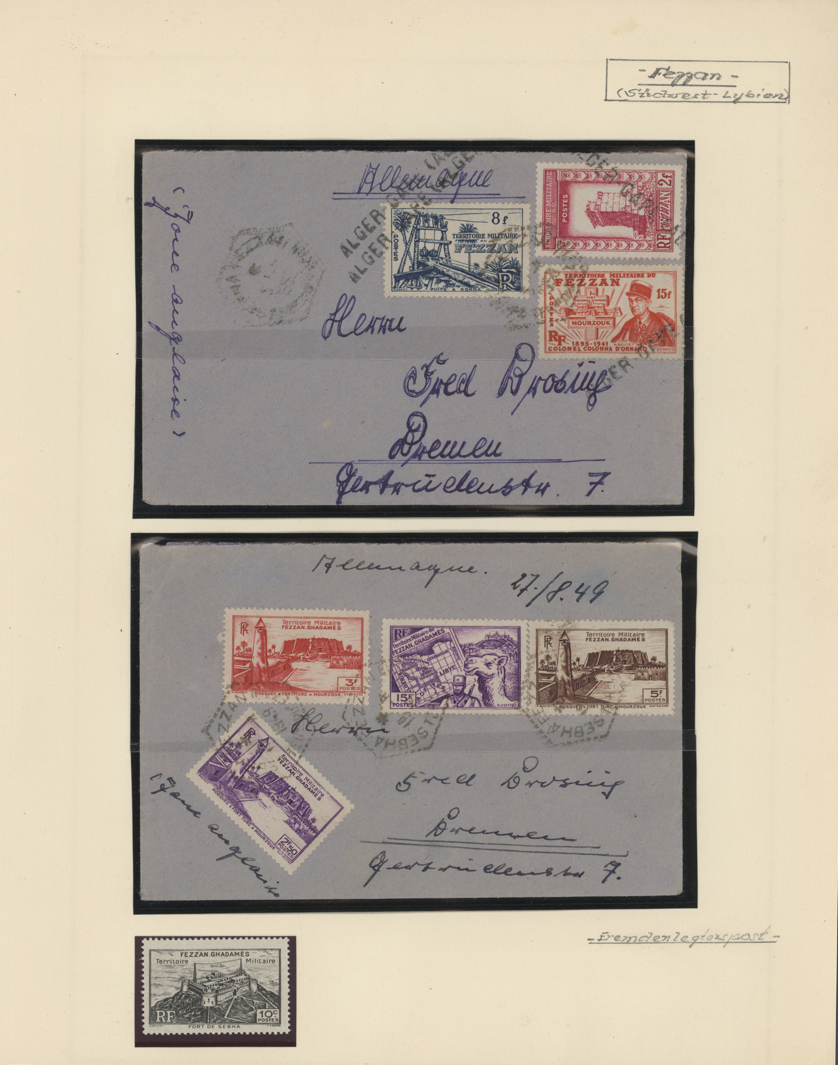 Lot 34673 - französische kolonien  -  Auktionshaus Christoph Gärtner GmbH & Co. KG Collections Germany,  Collections Supplement, Surprise boxes #39 Day 7