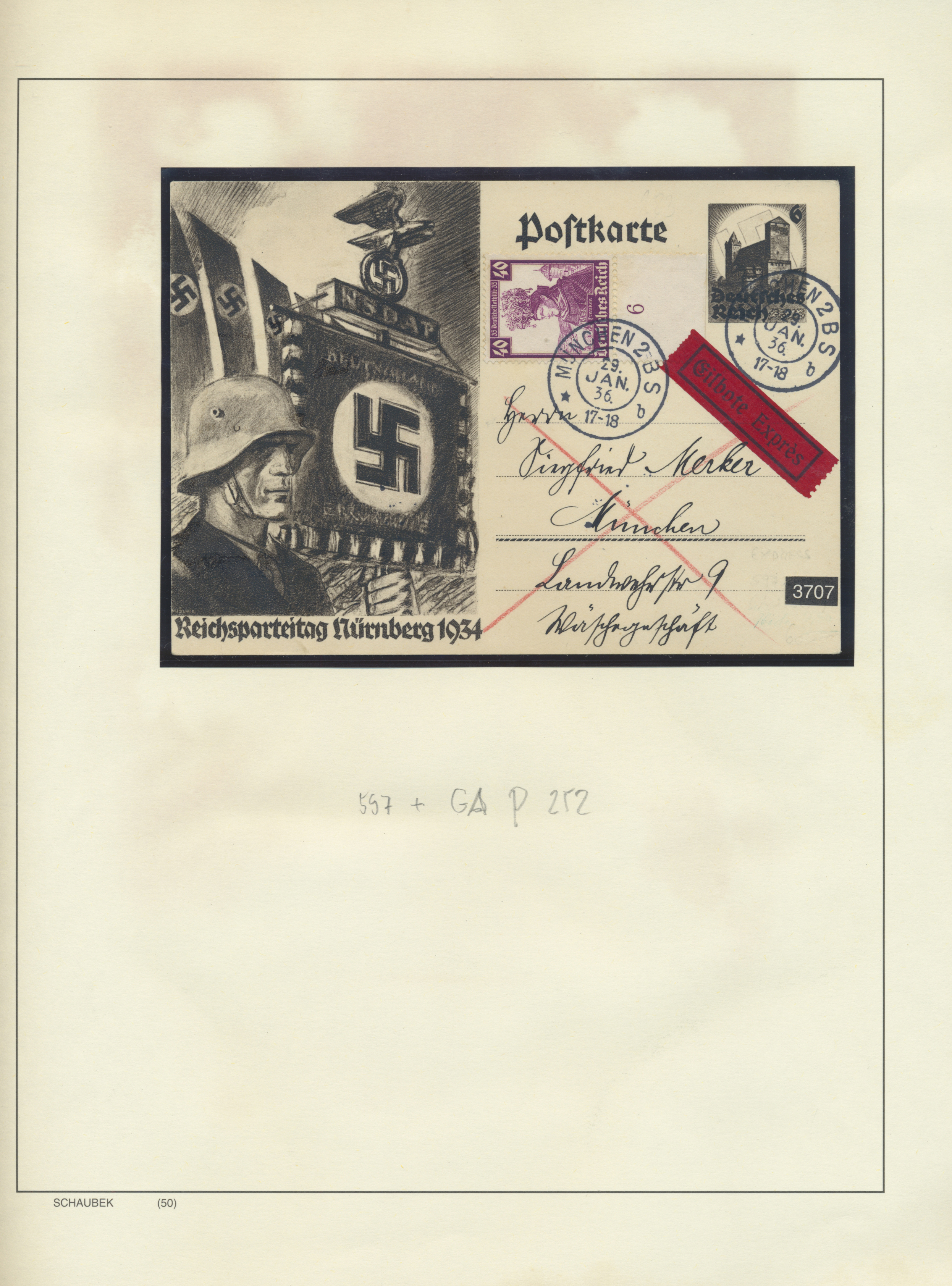 Lot 36862 - Deutsches Reich - 3. Reich  -  Auktionshaus Christoph Gärtner GmbH & Co. KG Collections Germany,  Collections Supplement, Surprise boxes #39 Day 7