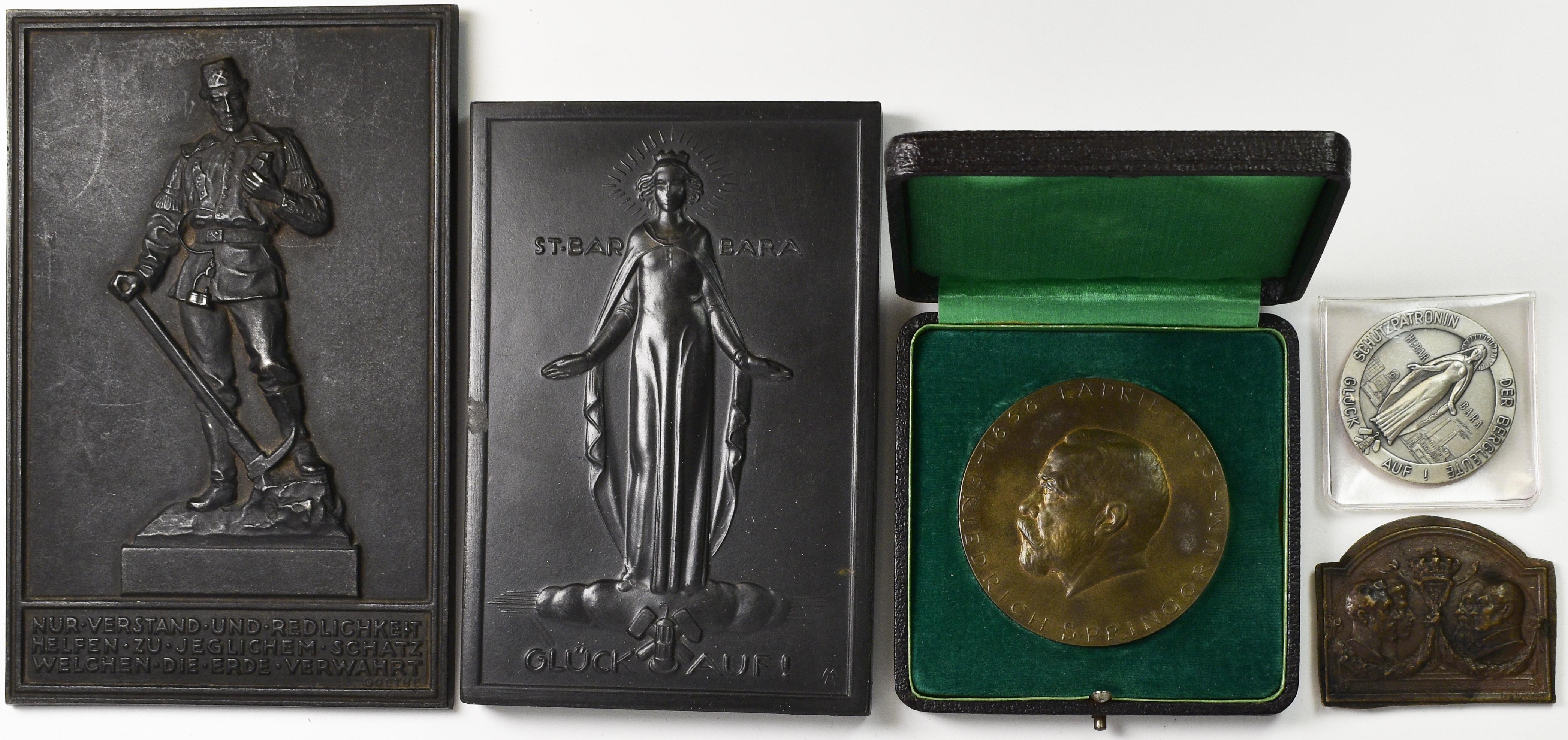 Lot 02857 - Medaillen Deutschland   Münzen  -  Auktionshaus Christoph Gärtner GmbH & Co. KG Sale #48 The Coins & The Picture Post Cards