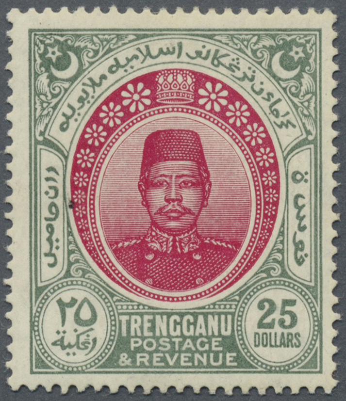 Lot 10091 - Malaiische Staaten - Trengganu  -  Auktionshaus Christoph Gärtner GmbH & Co. KG Philately: ASIA single lots including Special Catalog Malaya Auction #39 Day 3
