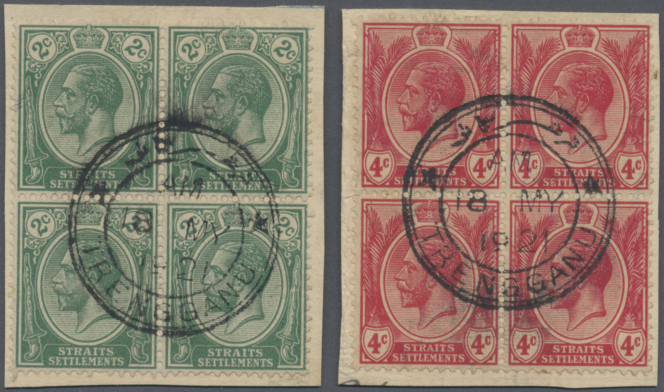 Lot 10110 - Malaiische Staaten - Trengganu  -  Auktionshaus Christoph Gärtner GmbH & Co. KG Philately: ASIA single lots including Special Catalog Malaya Auction #39 Day 3