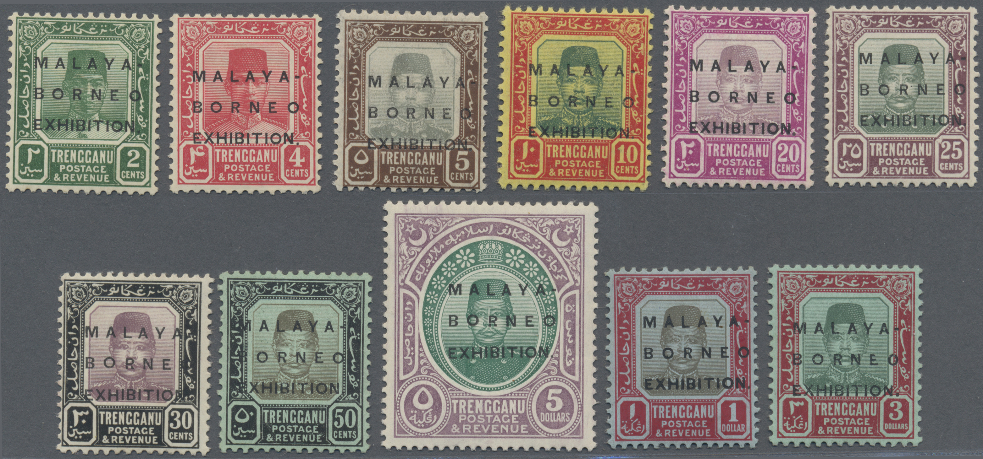 Lot 10129 - Malaiische Staaten - Trengganu  -  Auktionshaus Christoph Gärtner GmbH & Co. KG Philately: ASIA single lots including Special Catalog Malaya Auction #39 Day 3