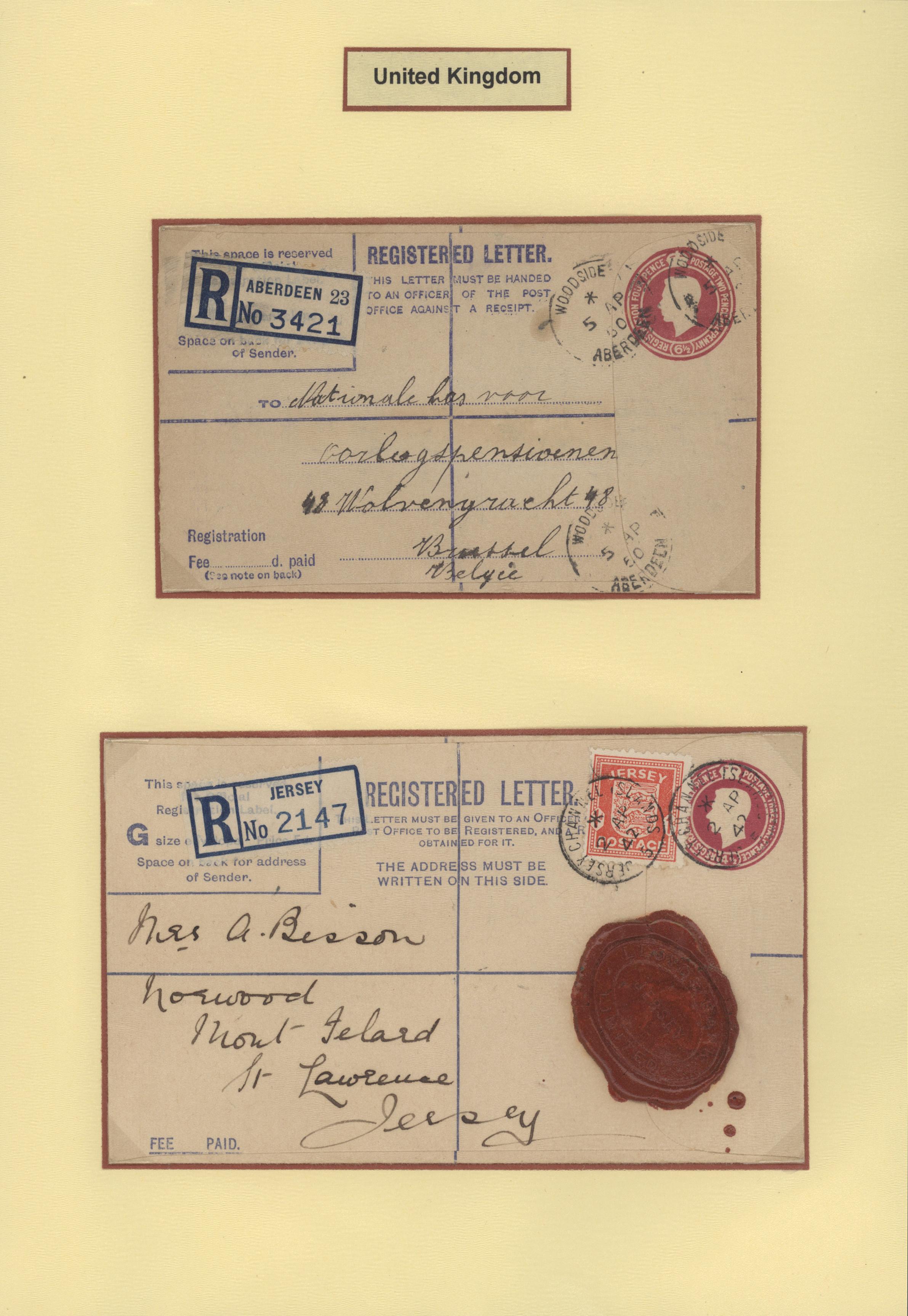 Lot 34783 - Großbritannien - Ganzsachen  -  Auktionshaus Christoph Gärtner GmbH & Co. KG Collections Germany,  Collections Supplement, Surprise boxes #39 Day 7