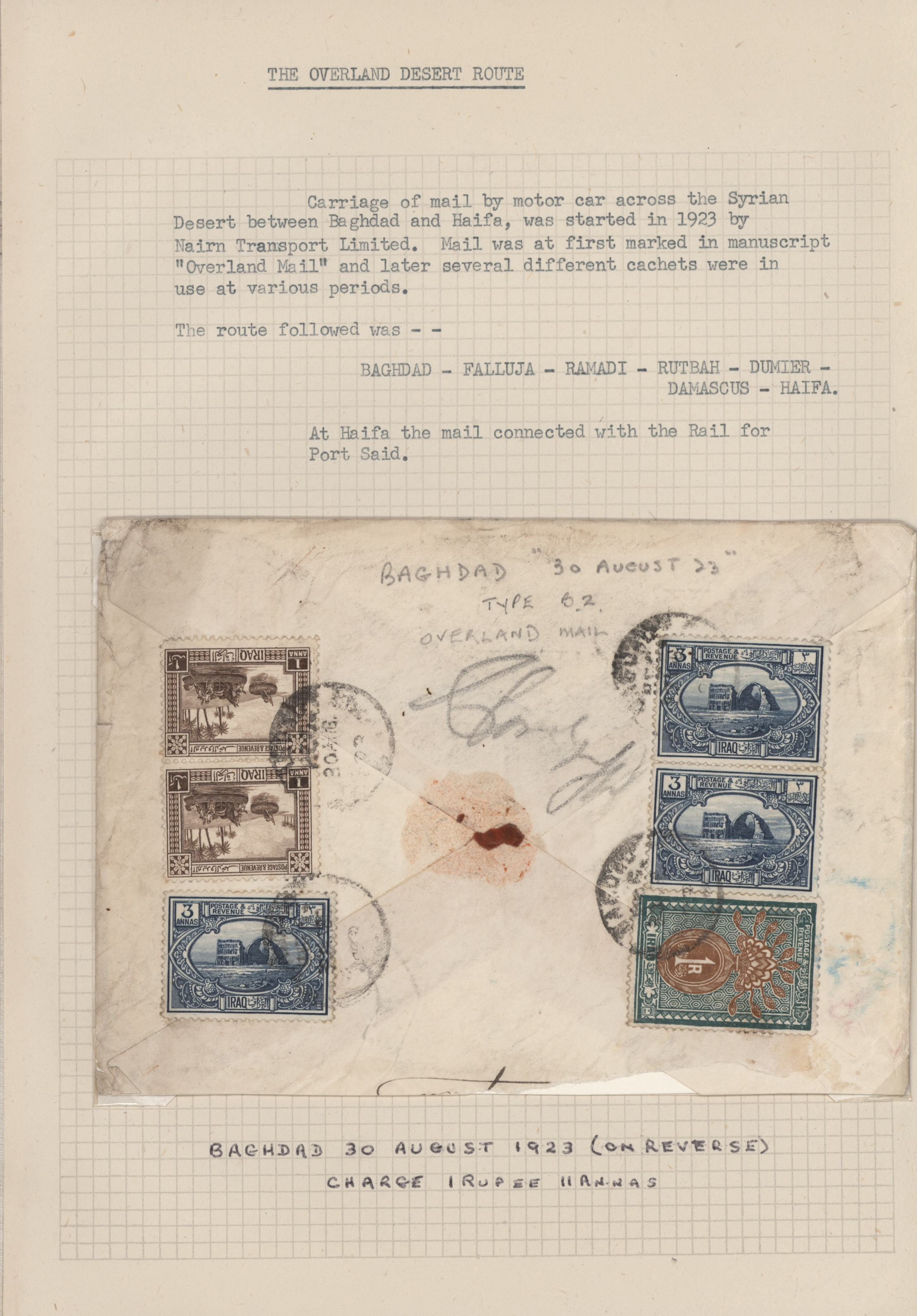 Lot 13478 - irak  -  Auktionshaus Christoph Gärtner GmbH & Co. KG Sale #48 collections Overseas  Airmail / Ship mail & Thematics