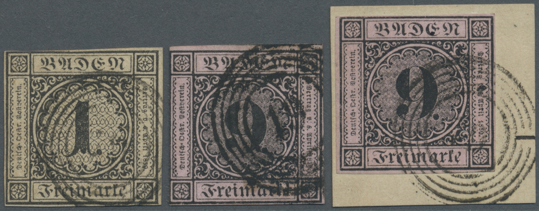 Lot 17008 - Baden - Marken und Briefe  -  Auktionshaus Christoph Gärtner GmbH & Co. KG Auction #40 Germany, Picture Post Cards, Collections Overseas, Thematics