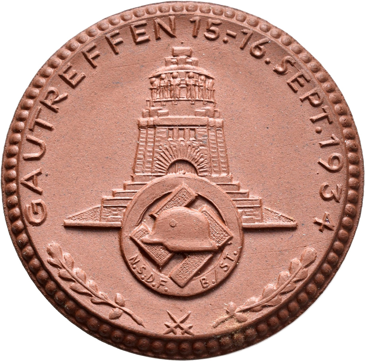 Lot 02381 - Medaillen Deutschland | Münzen  -  Auktionshaus Christoph Gärtner GmbH & Co. KG Sale #48 The Coins & The Picture Post Cards