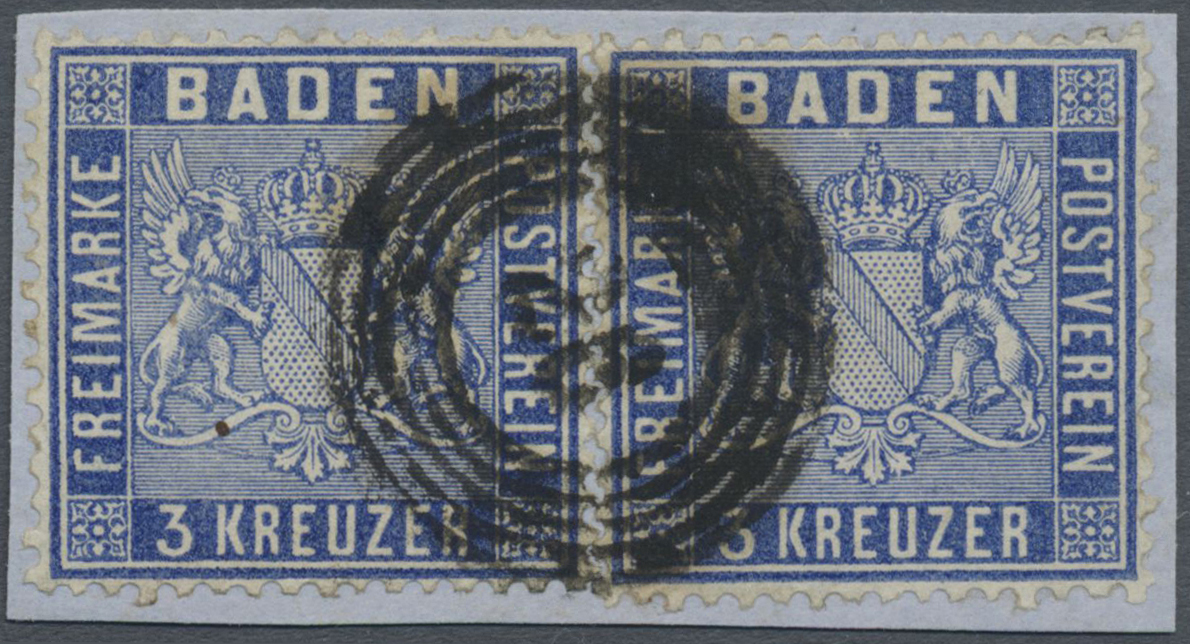 Lot 17020 - Baden - Marken und Briefe  -  Auktionshaus Christoph Gärtner GmbH & Co. KG Auction #40 Germany, Picture Post Cards, Collections Overseas, Thematics