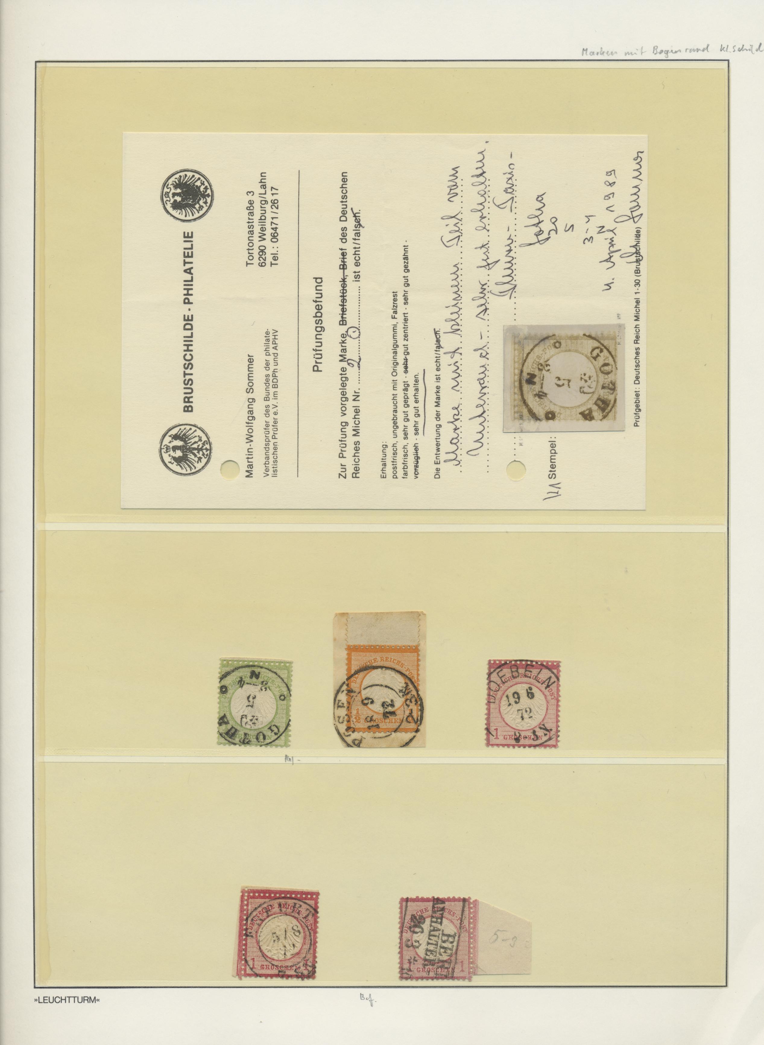 Lot 36566 - Deutsches Reich - Brustschild  -  Auktionshaus Christoph Gärtner GmbH & Co. KG Sale #44 Collections Germany