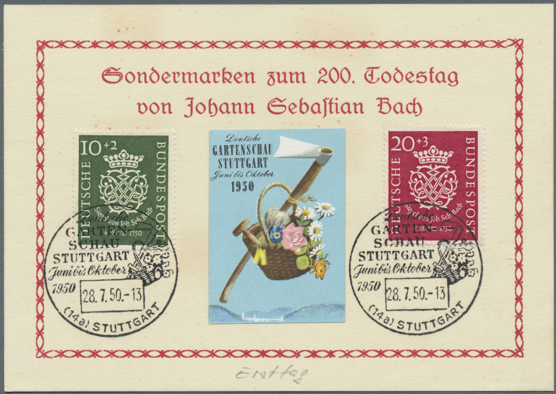 Lot 38350 - bundesrepublik deutschland  -  Auktionshaus Christoph Gärtner GmbH & Co. KG Collections Germany,  Collections Supplement, Surprise boxes #39 Day 7