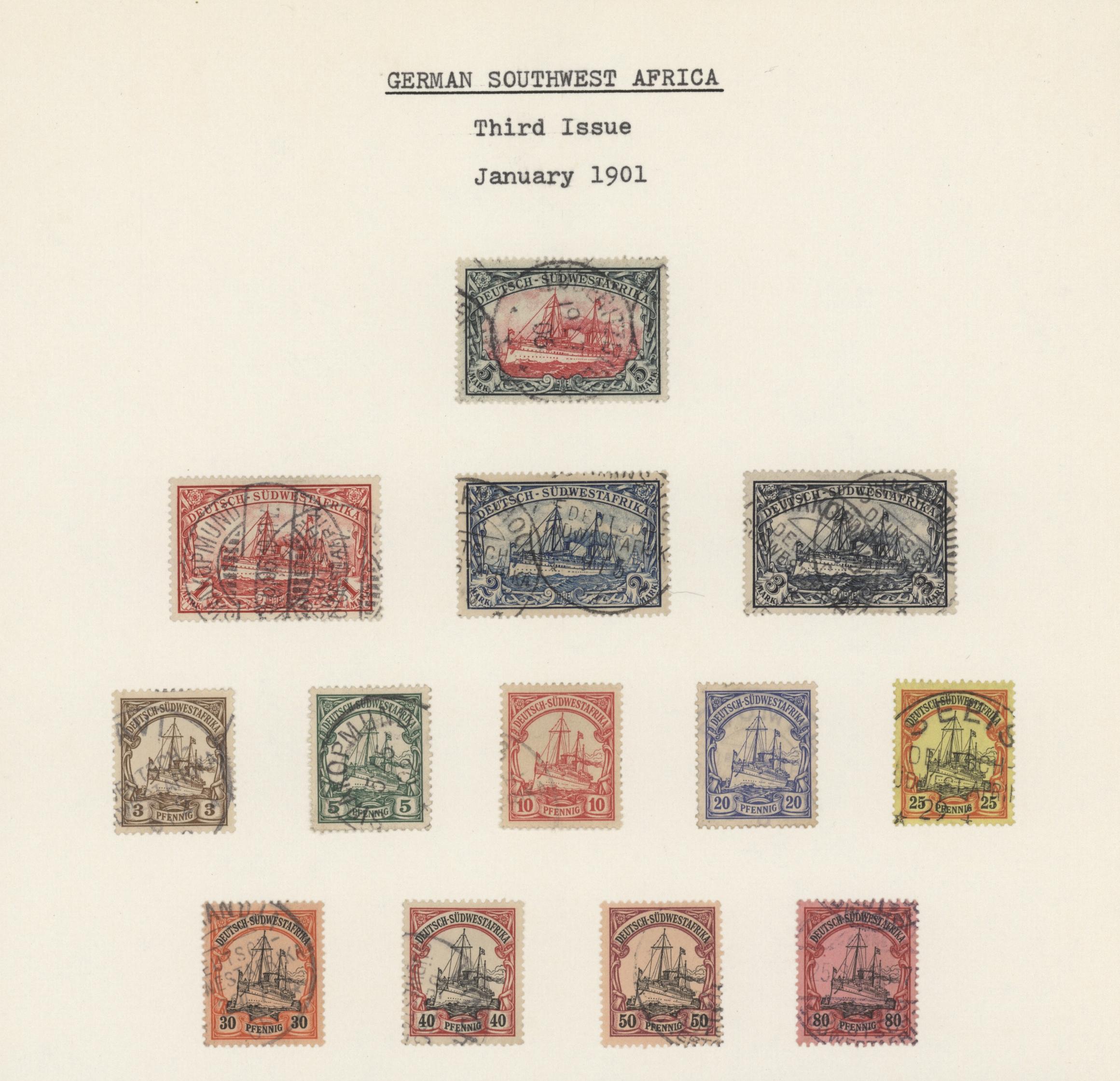 Lot 36940 - deutsch-südwestafrika  -  Auktionshaus Christoph Gärtner GmbH & Co. KG Sale #44 Collections Germany