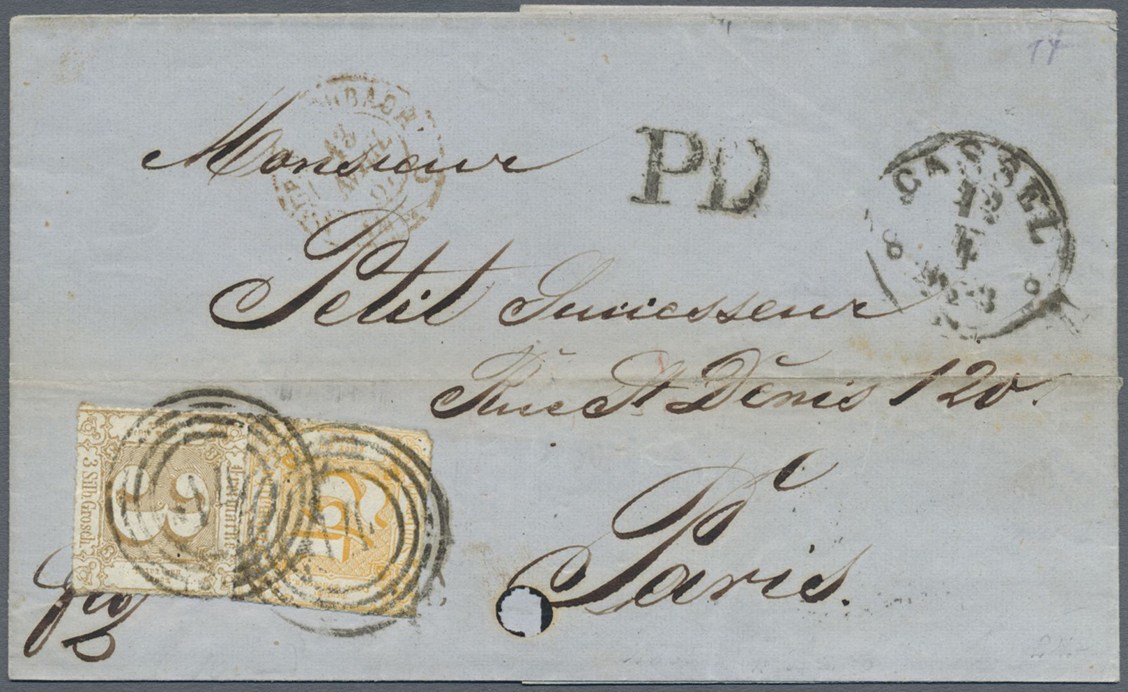 Lot 36497 - Thurn & Taxis - Marken und Briefe  -  Auktionshaus Christoph Gärtner GmbH & Co. KG Collections Germany,  Collections Supplement, Surprise boxes #39 Day 7
