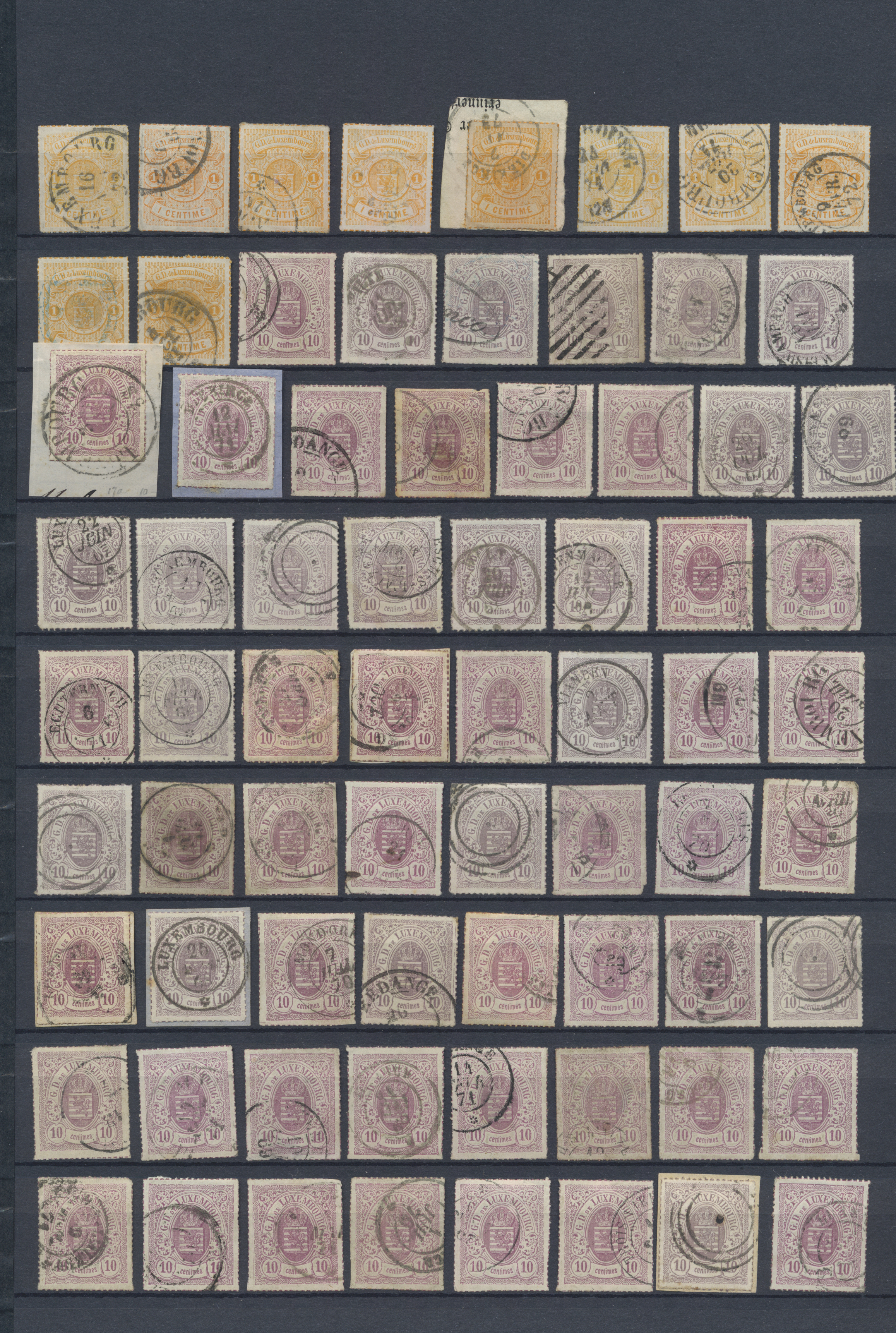 Lot 17692 - luxemburg  -  Auktionshaus Christoph Gärtner GmbH & Co. KG Sale #48 collections Overseas  Airmail / Ship mail & Thematics
