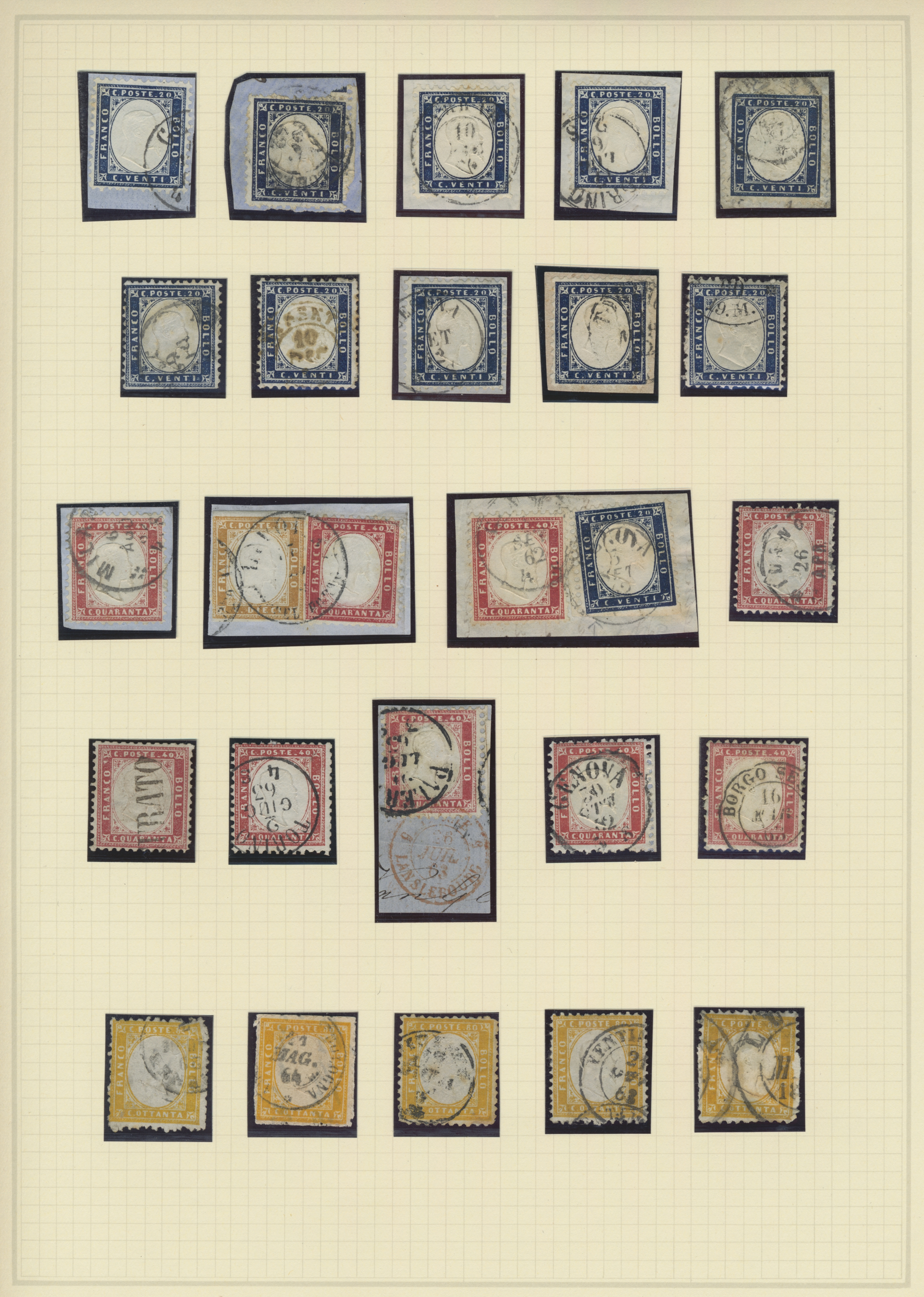 Lot 17262 - italien  -  Auktionshaus Christoph Gärtner GmbH & Co. KG Sale #48 collections Overseas  Airmail / Ship mail & Thematics