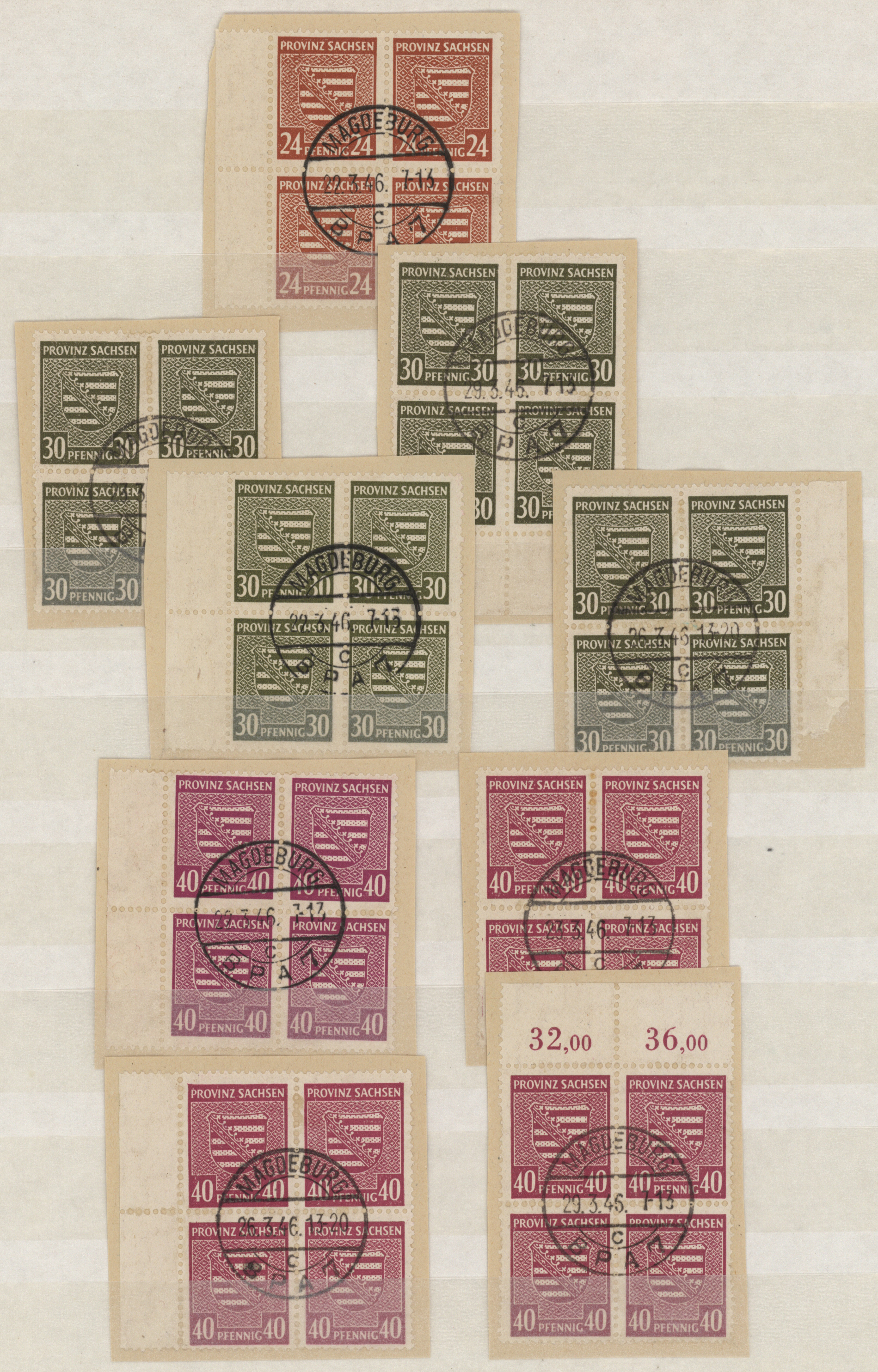 Lot 37960 - Sowjetische Zone - Provinz Sachsen  -  Auktionshaus Christoph Gärtner GmbH & Co. KG Collections Germany,  Collections Supplement, Surprise boxes #39 Day 7