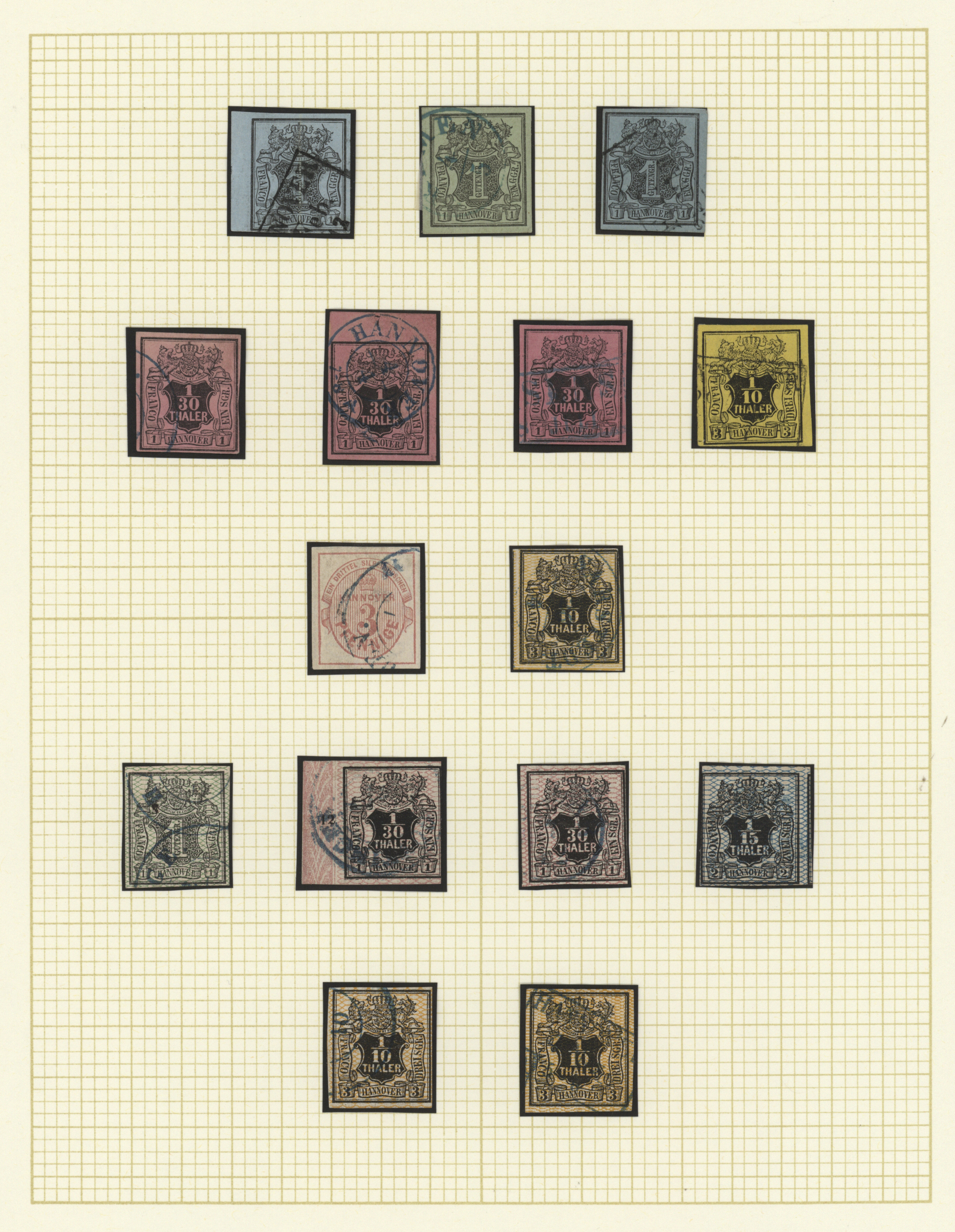 Lot 36369 - Hannover - Marken und Briefe  -  Auktionshaus Christoph Gärtner GmbH & Co. KG Collections Germany,  Collections Supplement, Surprise boxes #39 Day 7