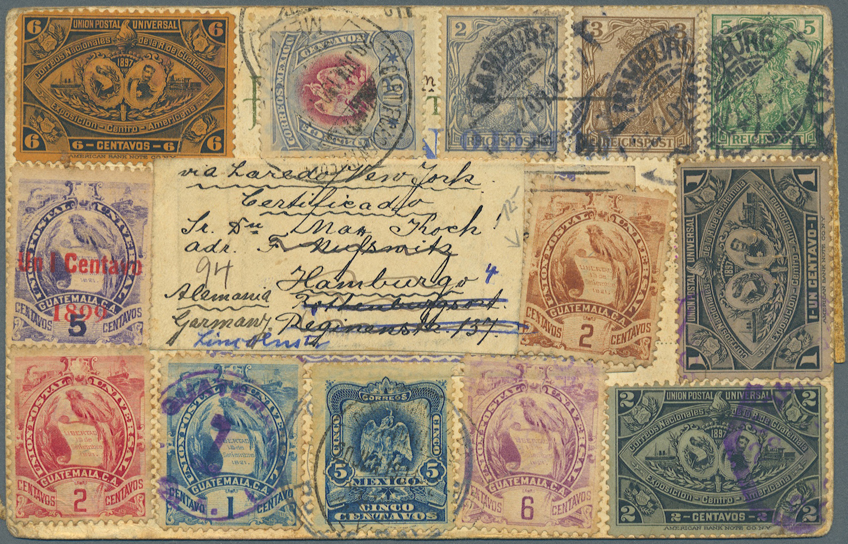 Lot 13826 - guatemala  -  Auktionshaus Christoph Gärtner GmbH & Co. KG Single lots Philately Overseas & Europe. Auction #39 Day 4