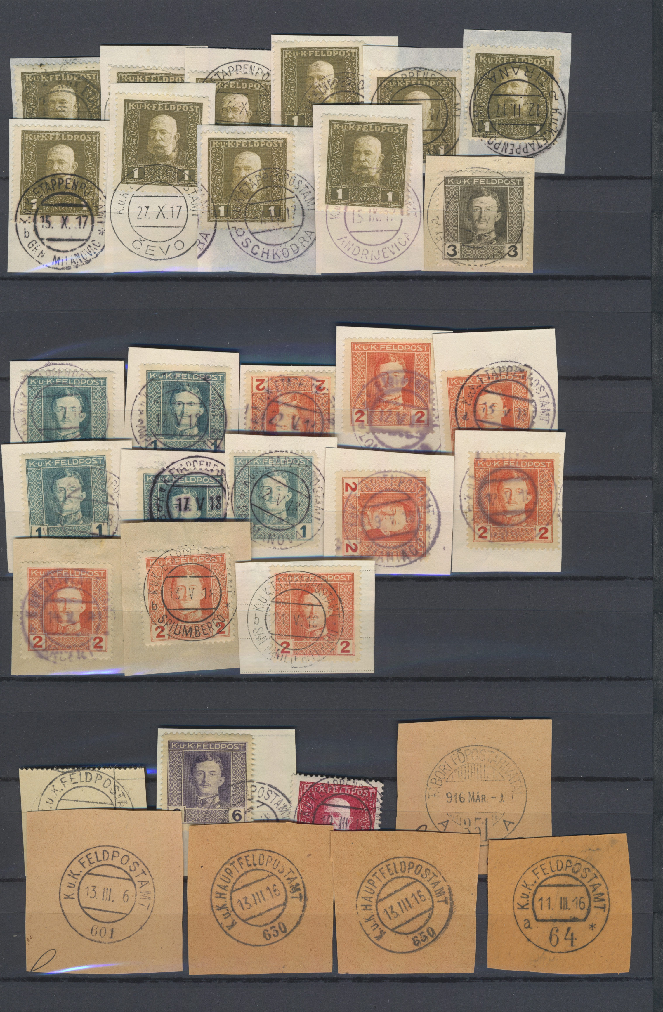 Lot 18353 - Österreichisch-Ungarische Feldpost - Allgemeine Ausgabe  -  Auktionshaus Christoph Gärtner GmbH & Co. KG Sale #48 collections Overseas  Airmail / Ship mail & Thematics
