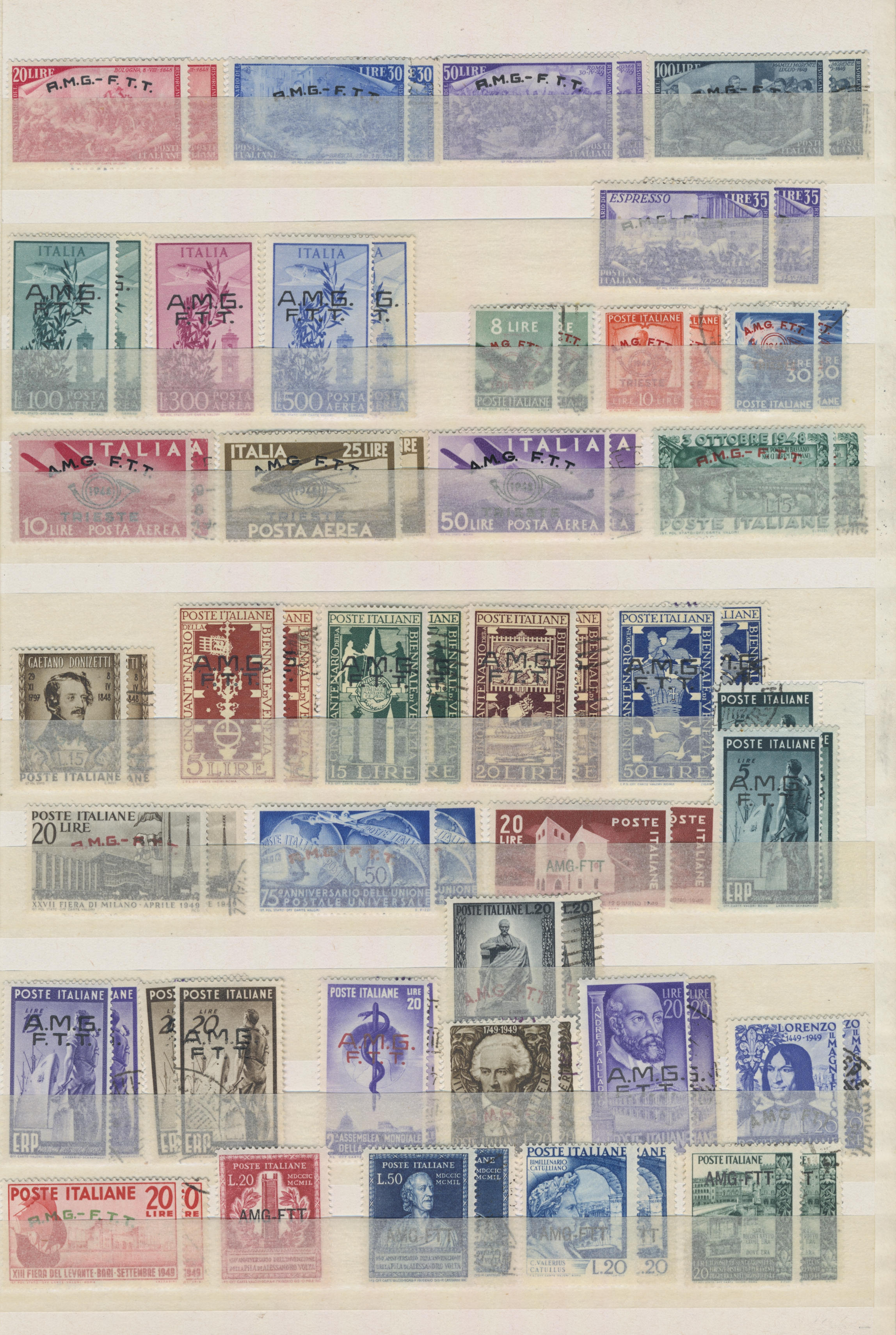 Lot 19379 - Triest - Zone A  -  Auktionshaus Christoph Gärtner GmbH & Co. KG Sale #48 collections Overseas  Airmail / Ship mail & Thematics