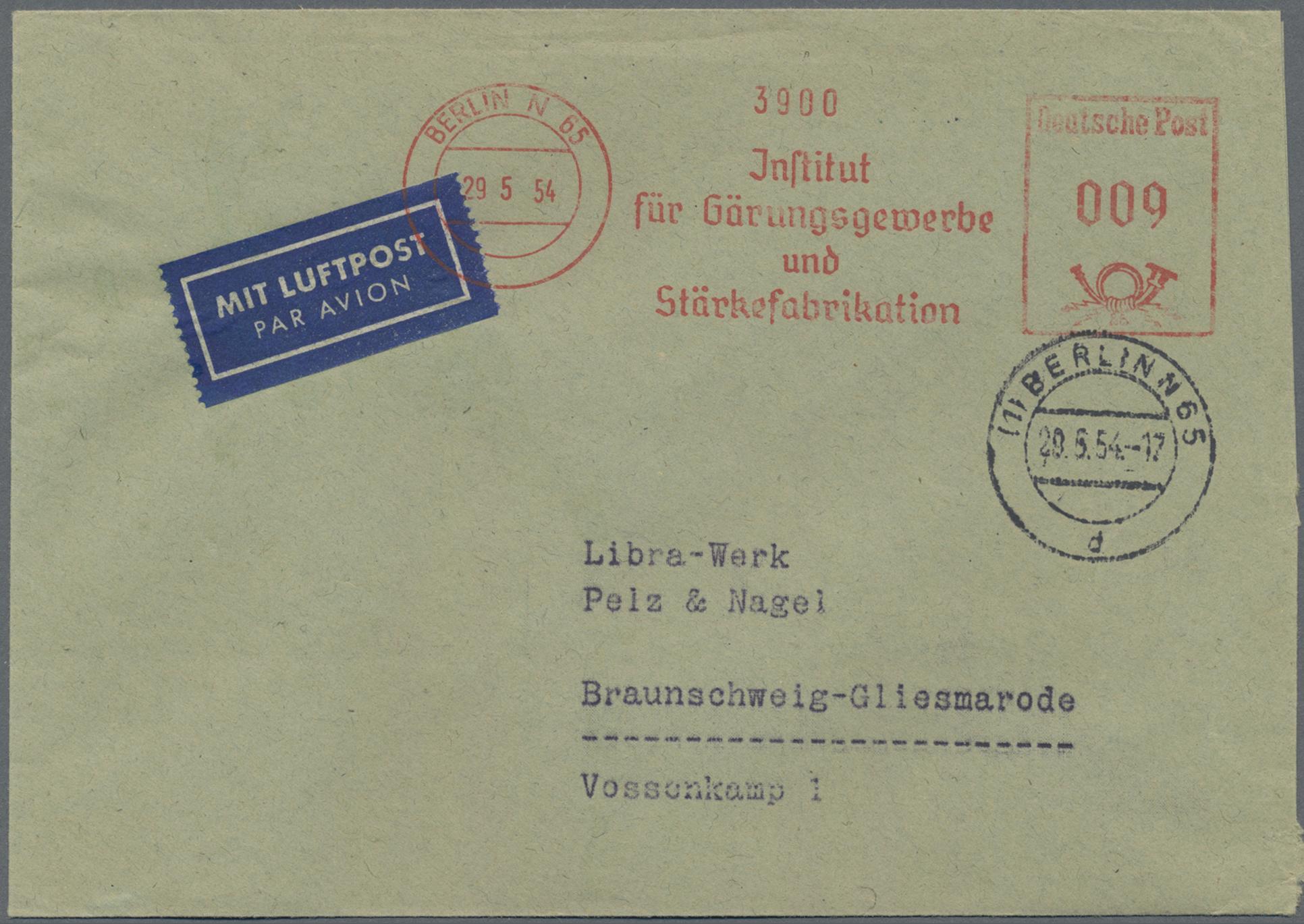 Lot 37554 - bundesrepublik deutschland  -  Auktionshaus Christoph Gärtner GmbH & Co. KG Sale #44 Collections Germany