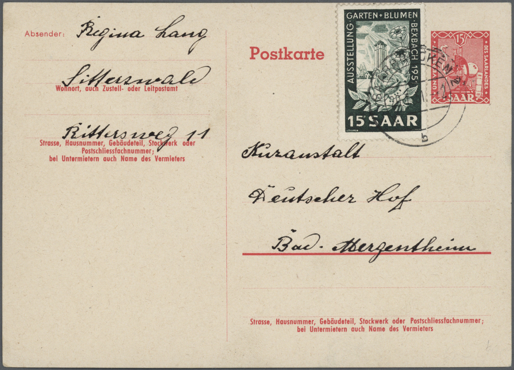 Lot 38272 - Saarland (1947/56)  -  Auktionshaus Christoph Gärtner GmbH & Co. KG Collections Germany,  Collections Supplement, Surprise boxes #39 Day 7