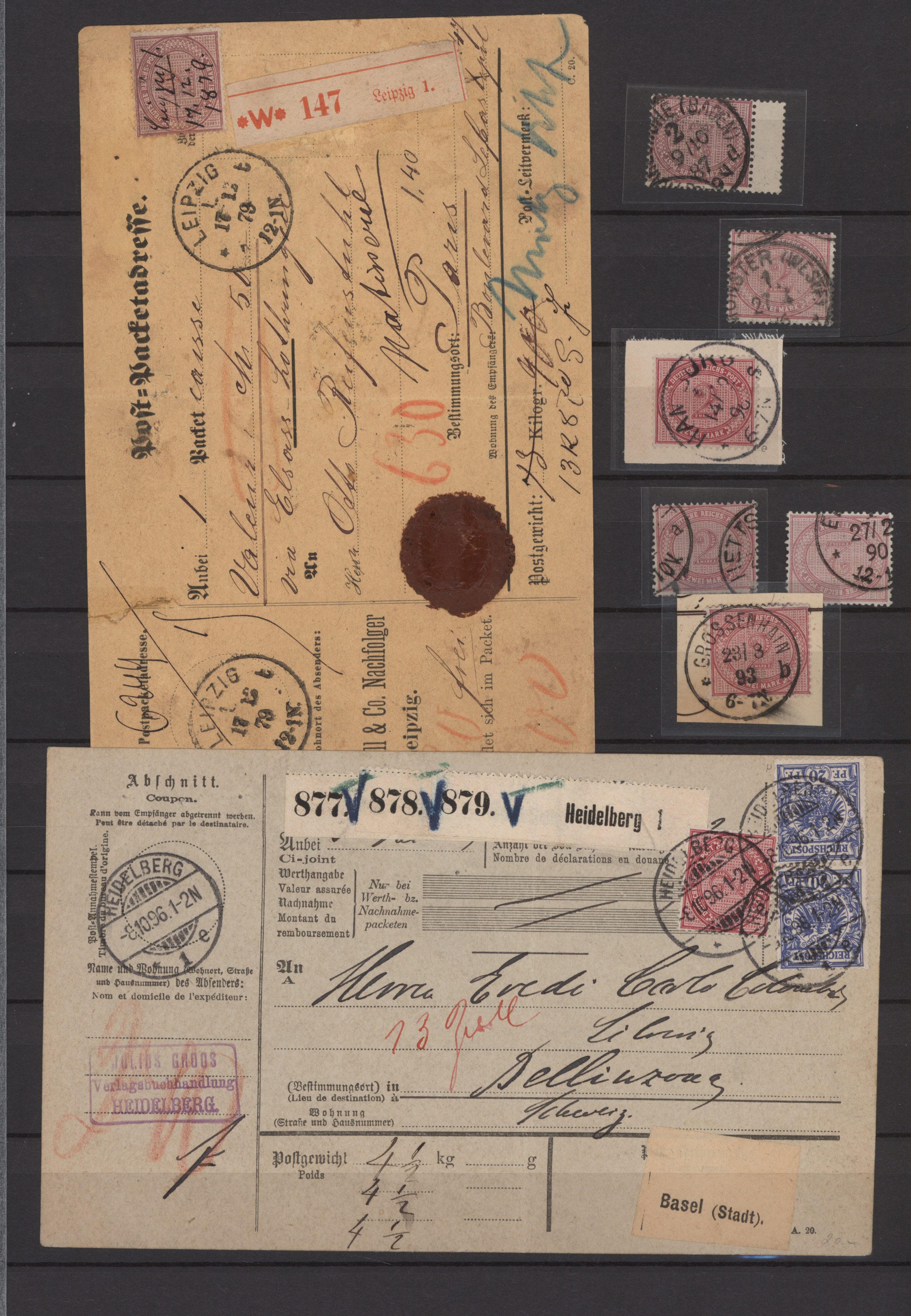 Lot 23157 - Deutsches Reich  -  Auktionshaus Christoph Gärtner GmbH & Co. KG 50th Auction Anniversary Auction - Day 7