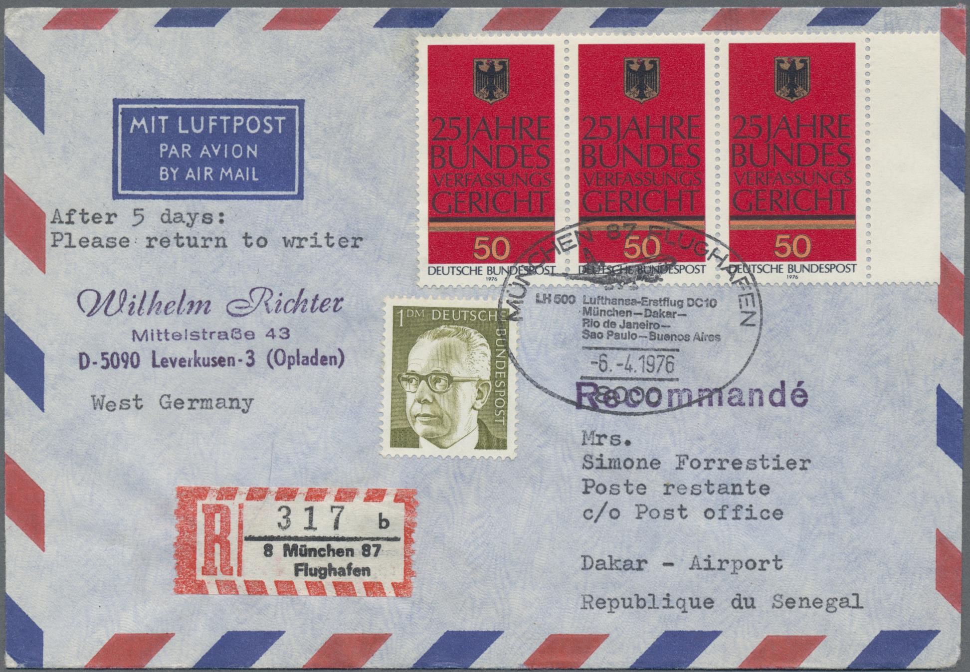 Lot 29566 - bundesrepublik deutschland  -  Auktionshaus Christoph Gärtner GmbH & Co. KG Sale #46 Gollcetions Germany - including the suplement