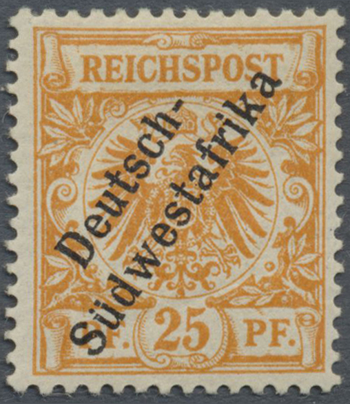 Lot 22320 - deutsch-südwestafrika  -  Auktionshaus Christoph Gärtner GmbH & Co. KG Single lots Germany + Picture Postcards. Auction #39 Day 5