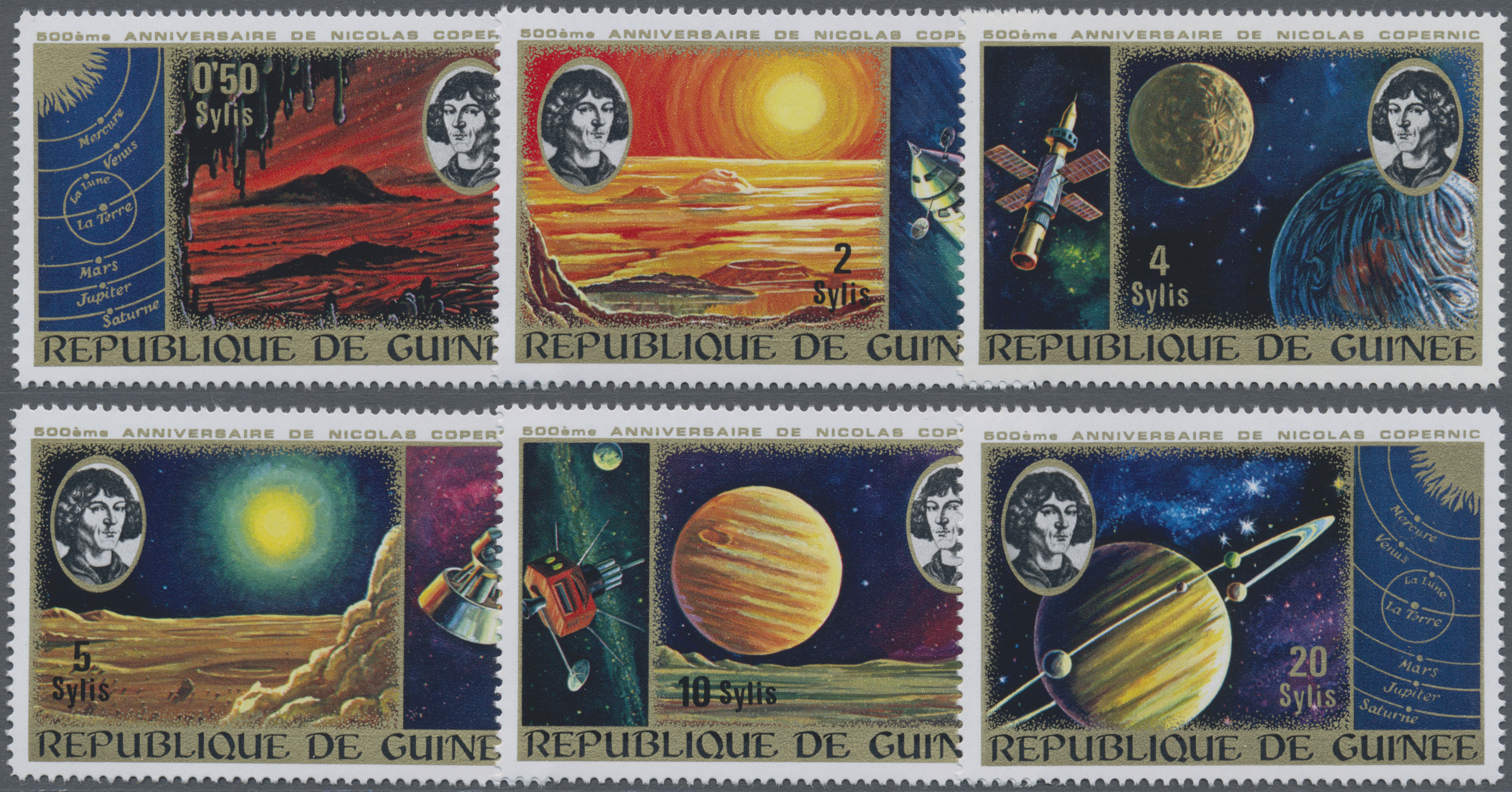 Lot 06221 - thematik: astronomie / astronomy  -  Auktionshaus Christoph Gärtner GmbH & Co. KG Special Auction 26.- 28. May 2020 Day 3 Collections - Thematics and Picture Post Cards