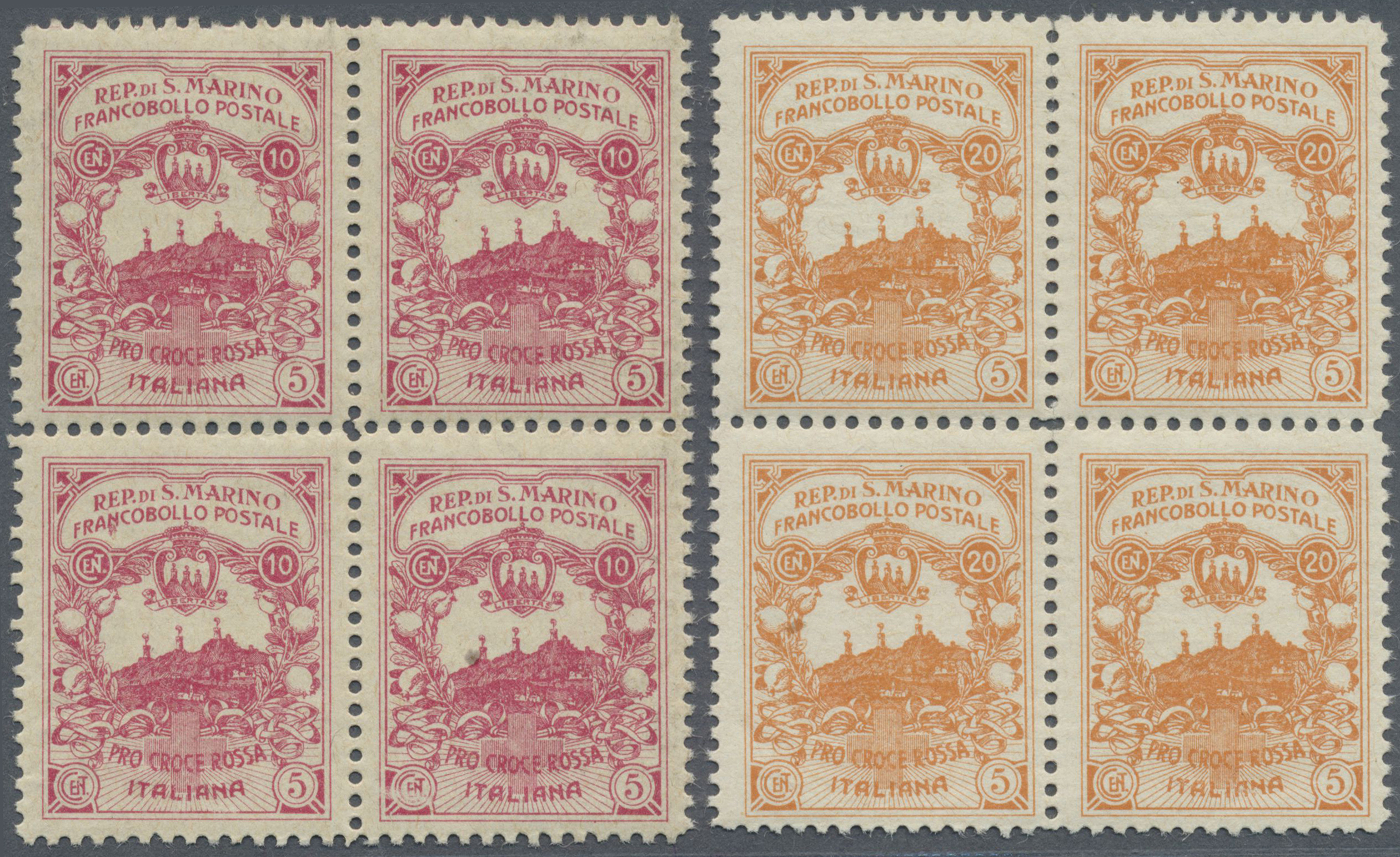 Lot 1071 - San Marino  -  Auktionshaus Christoph Gärtner GmbH & Co. KG Auction #41 Special auction part one