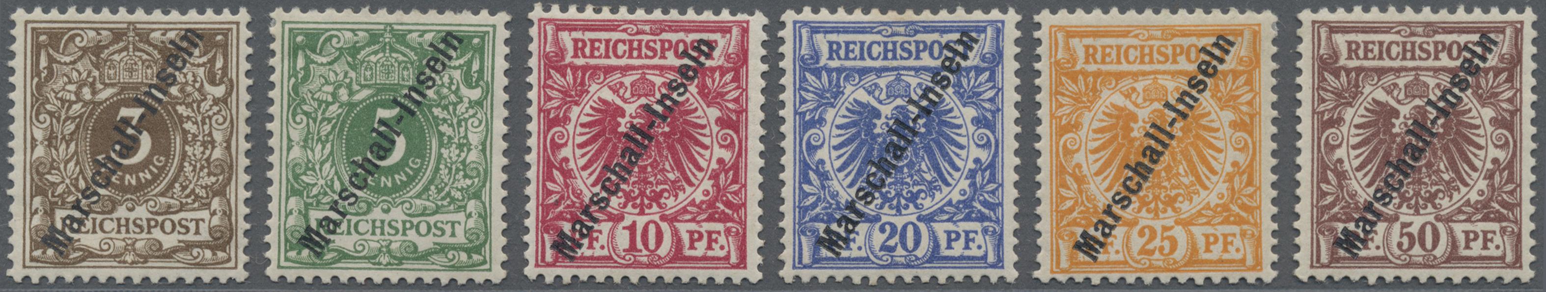 Lot 11480 - Deutsche Kolonien - Marshall-Inseln  -  Auktionshaus Christoph Gärtner GmbH & Co. KG Sale #48 The Single Lots Philatelie