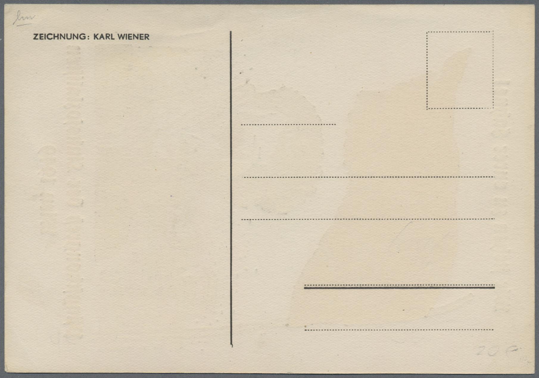 Lot 25661 - ansichtskarten: politik / politics  -  Auktionshaus Christoph Gärtner GmbH & Co. KG Sale #44 Germany, Picture Post cards