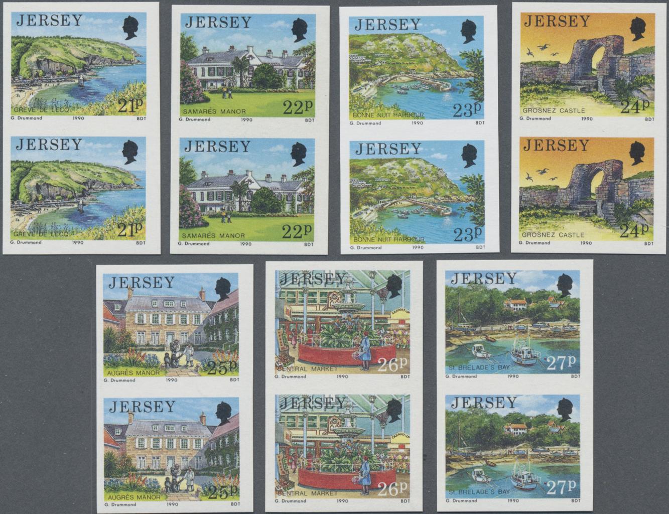 Lot 08693 - Großbritannien - Jersey  -  Auktionshaus Christoph Gärtner GmbH & Co. KG Sale #48 The Single Lots Philatelie