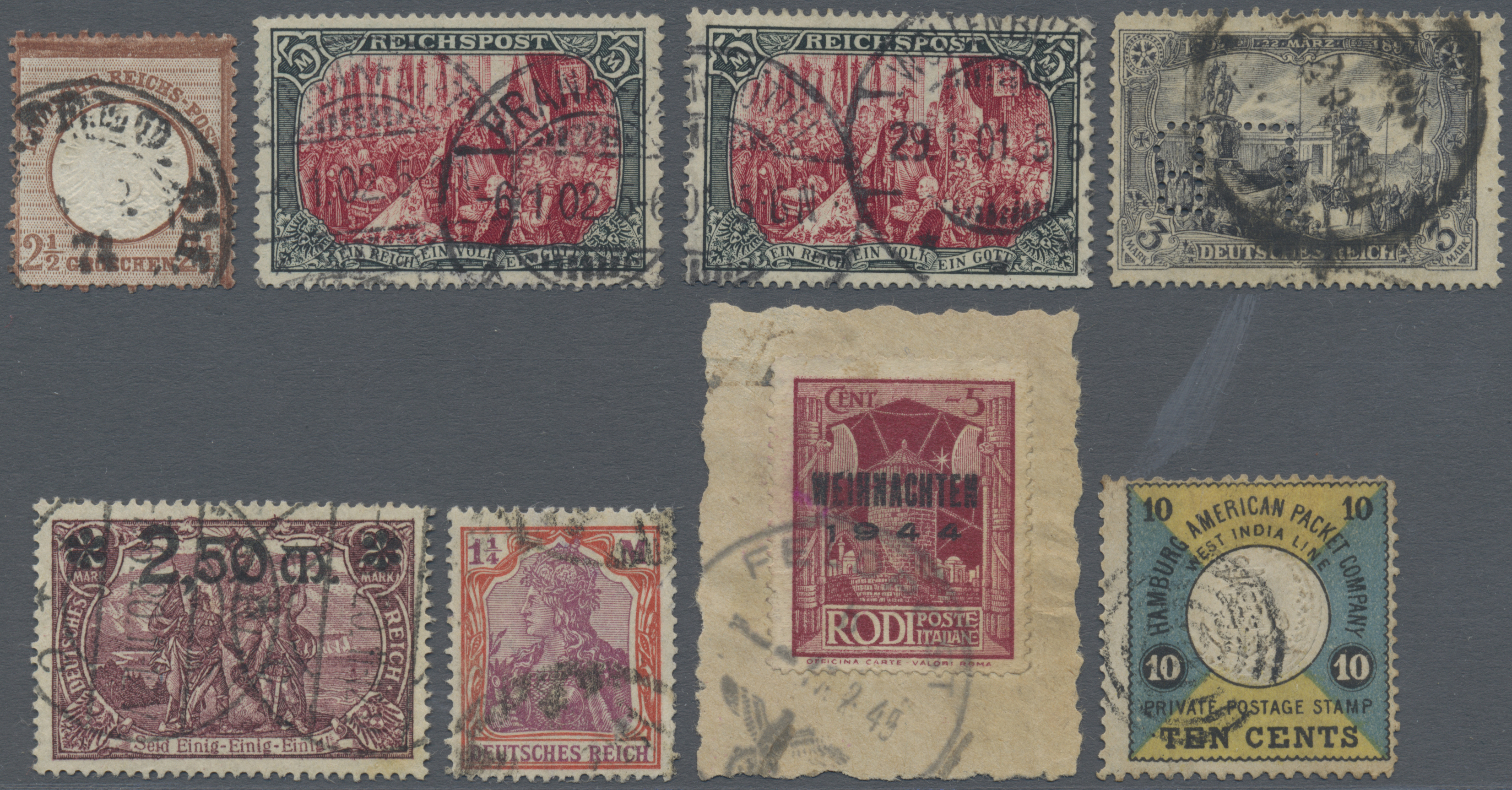Lot 36465 - Deutsches Reich  -  Auktionshaus Christoph Gärtner GmbH & Co. KG Sale #44 Collections Germany