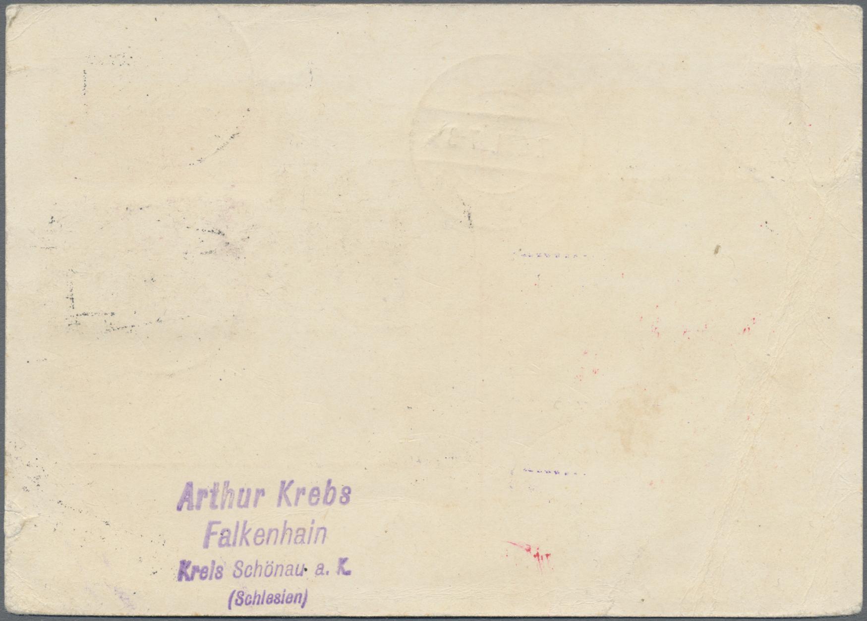 Lot 23134 - Deutsche Abstimmungsgebiete: Saargebiet - Ganzsachen  -  Auktionshaus Christoph Gärtner GmbH & Co. KG Sale #44 Germany, Picture Post cards