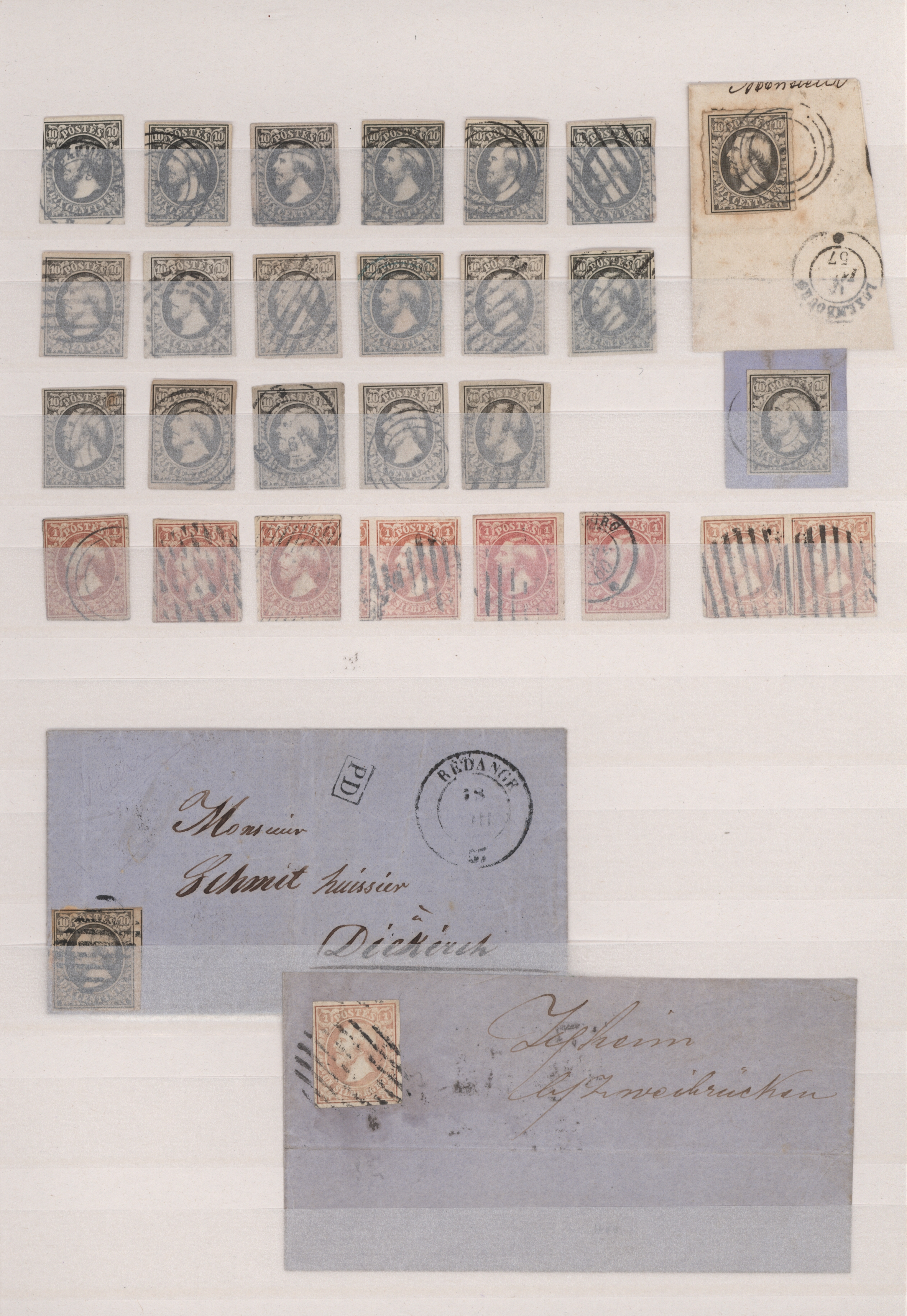 Lot 17687 - luxemburg  -  Auktionshaus Christoph Gärtner GmbH & Co. KG Sale #48 collections Overseas  Airmail / Ship mail & Thematics