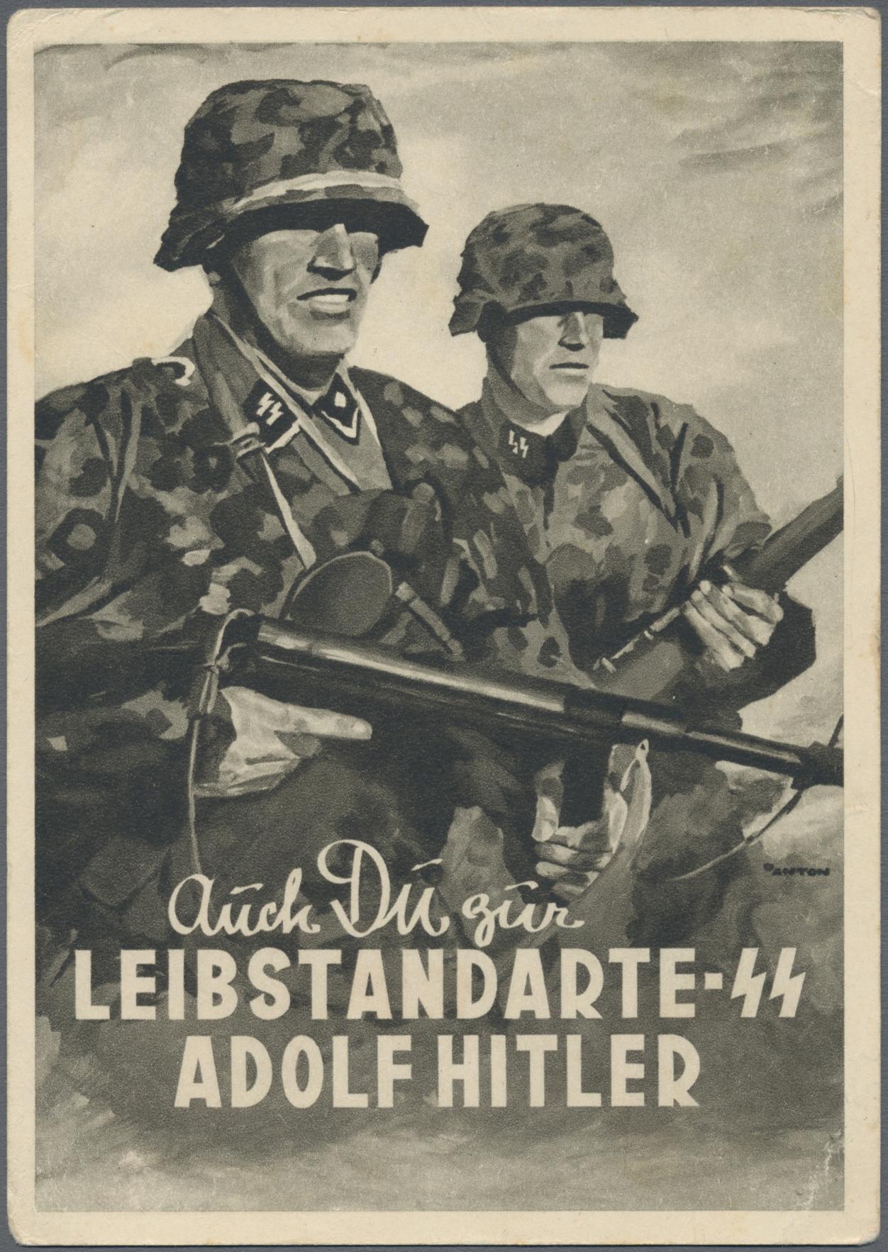 Lot 13810 - Ansichtskarten: Propaganda  -  Auktionshaus Christoph Gärtner GmbH & Co. KG 50th Auction Anniversary Auction - Day 4