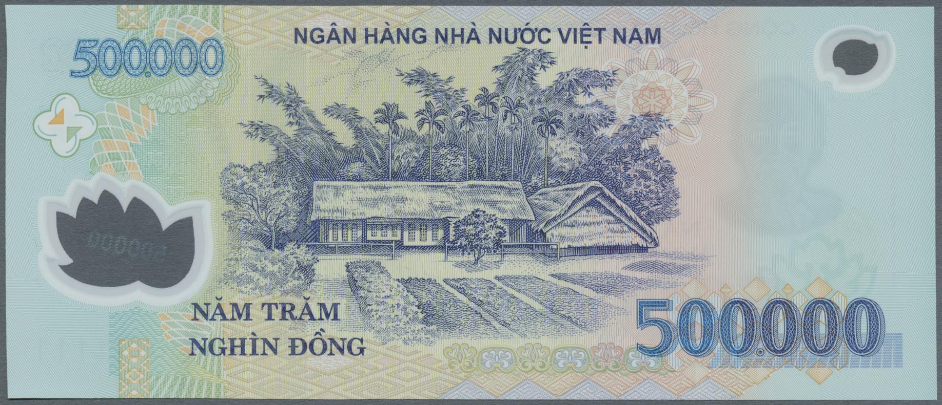 Lot 2251 - Vietnam | Banknoten  -  Auktionshaus Christoph Gärtner GmbH & Co. KG Banknotes & Coins Auction #39 Day 2
