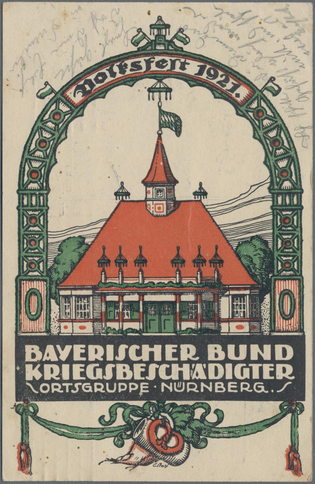 Lot 04500 - Ansichtskarten: Bayern  -  Auktionshaus Christoph Gärtner GmbH & Co. KG Sale #48 The Coins & The Picture Post Cards
